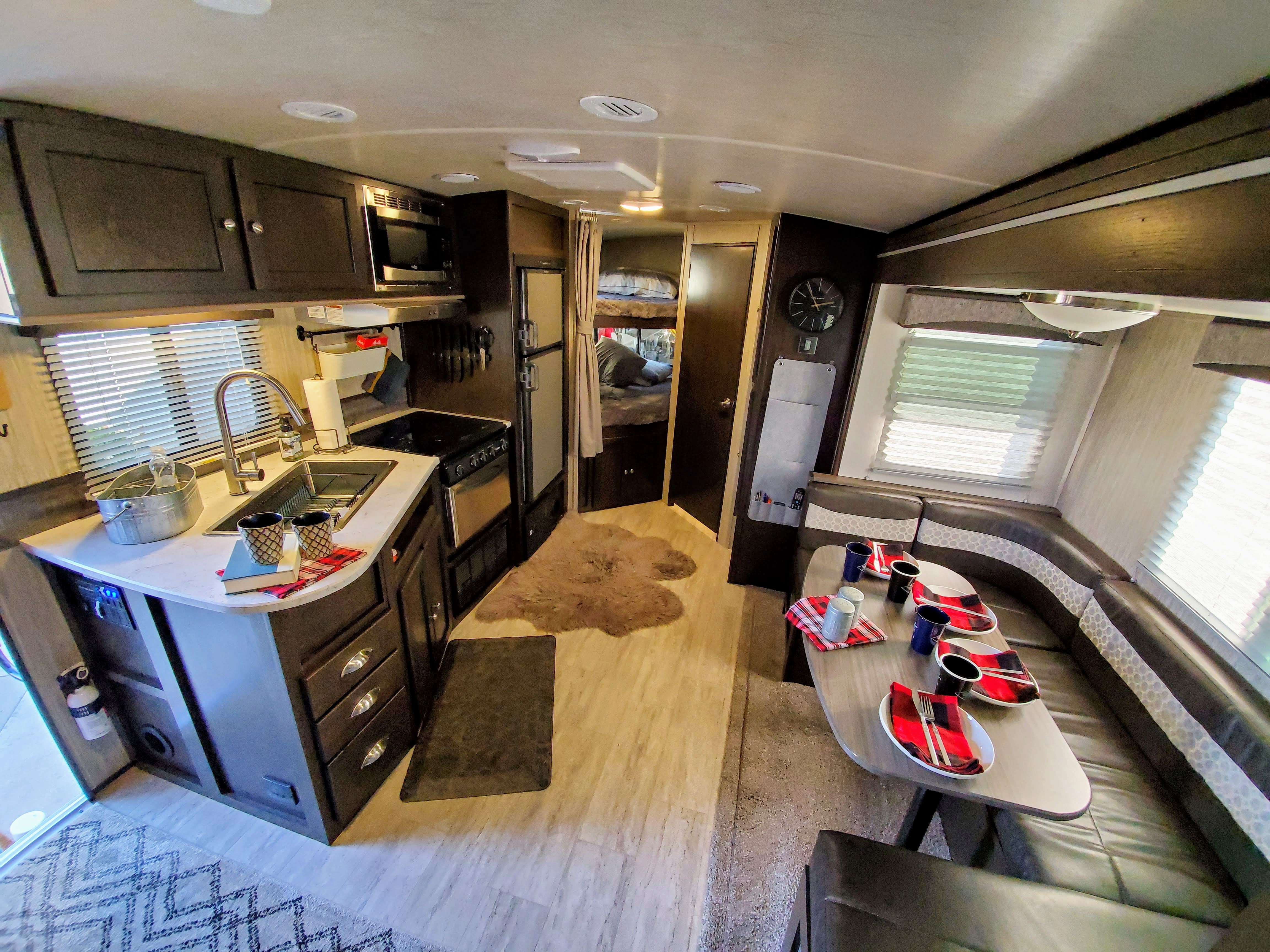 View from master bedroom. Cruiser Rv Corp Shadow Cruiser 2019