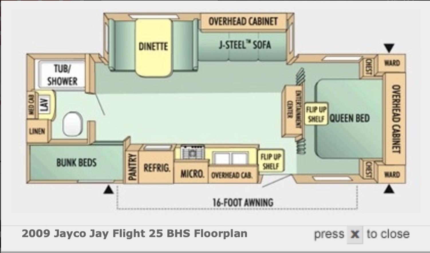 Jayco Jay Flight 2009