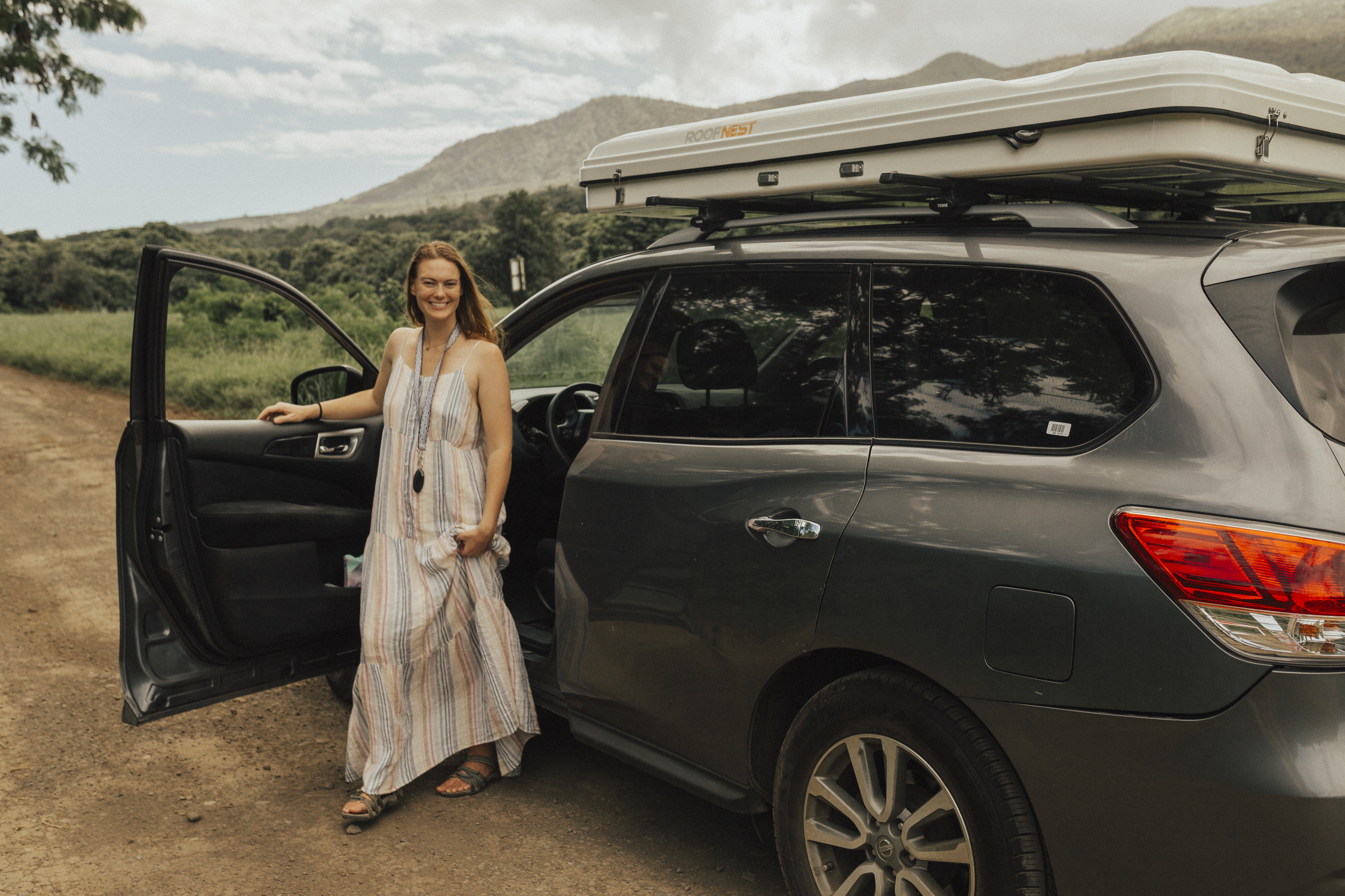 Purrrfect RV for Maui adventures!    Photos by Brooke Lambe. Nissan Pathfinder 2016