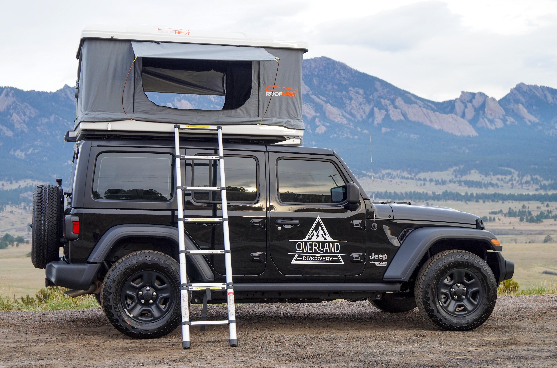 2018 Jeep Wrangler Unlimited Sport Truck Camper Rental In Denver Co Outdoorsy