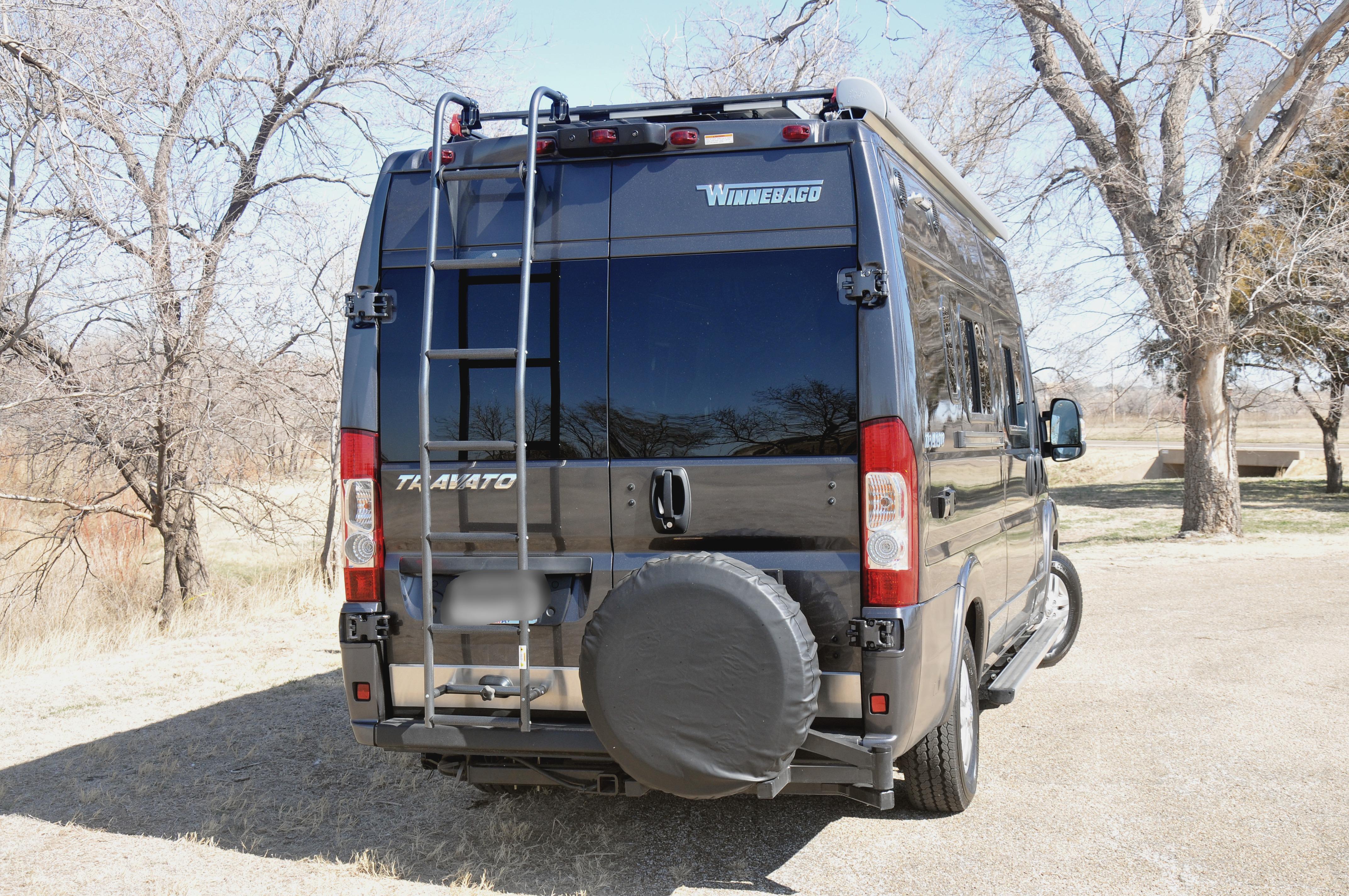 spare tire added. Winnebago Travato 59K 2020