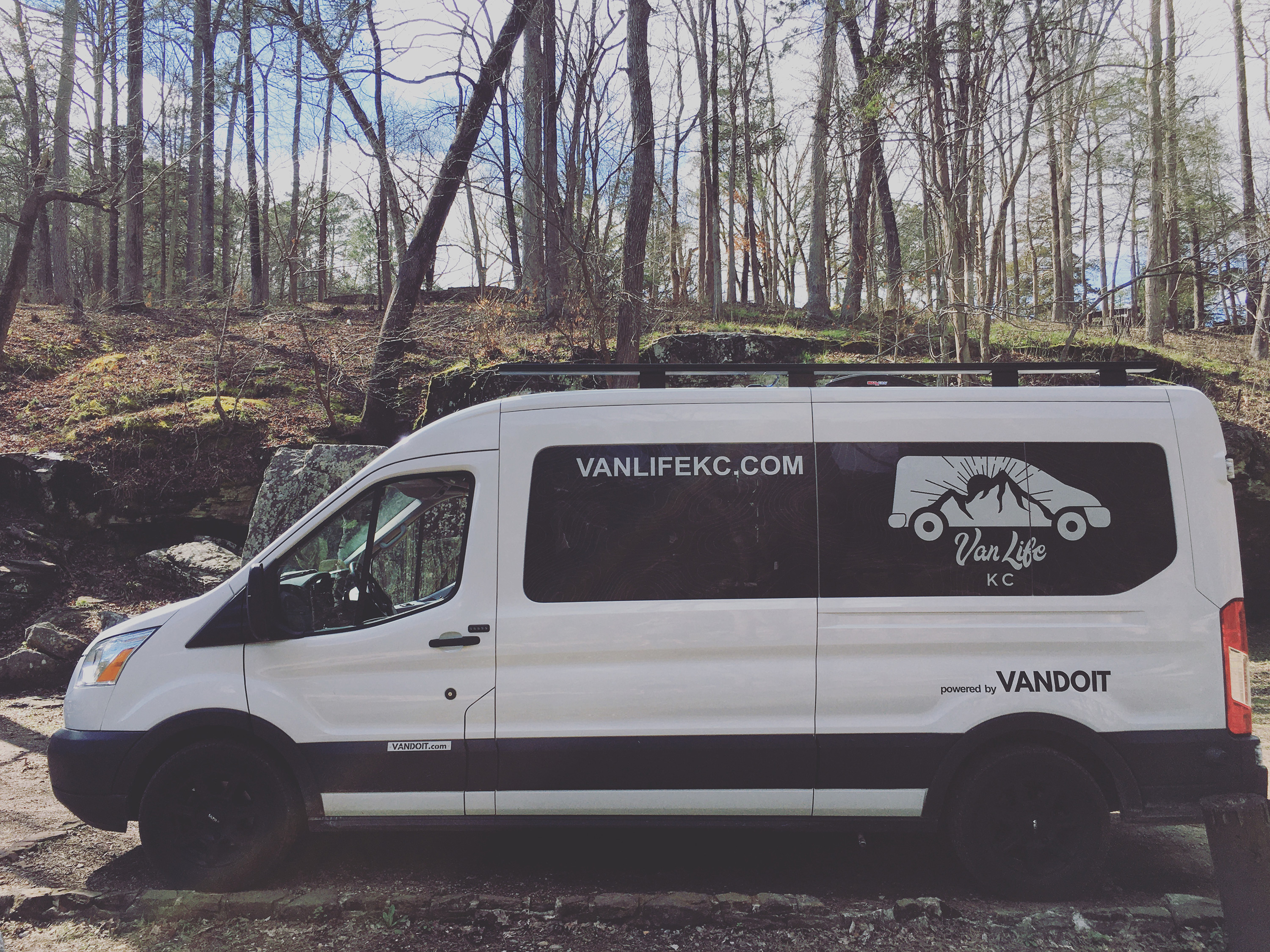 From one of the best camping trips of my life down in the Ozarks, here is Vanadium in all her glory!. Ford Custom Transit VanDOit Adventure Van 2017