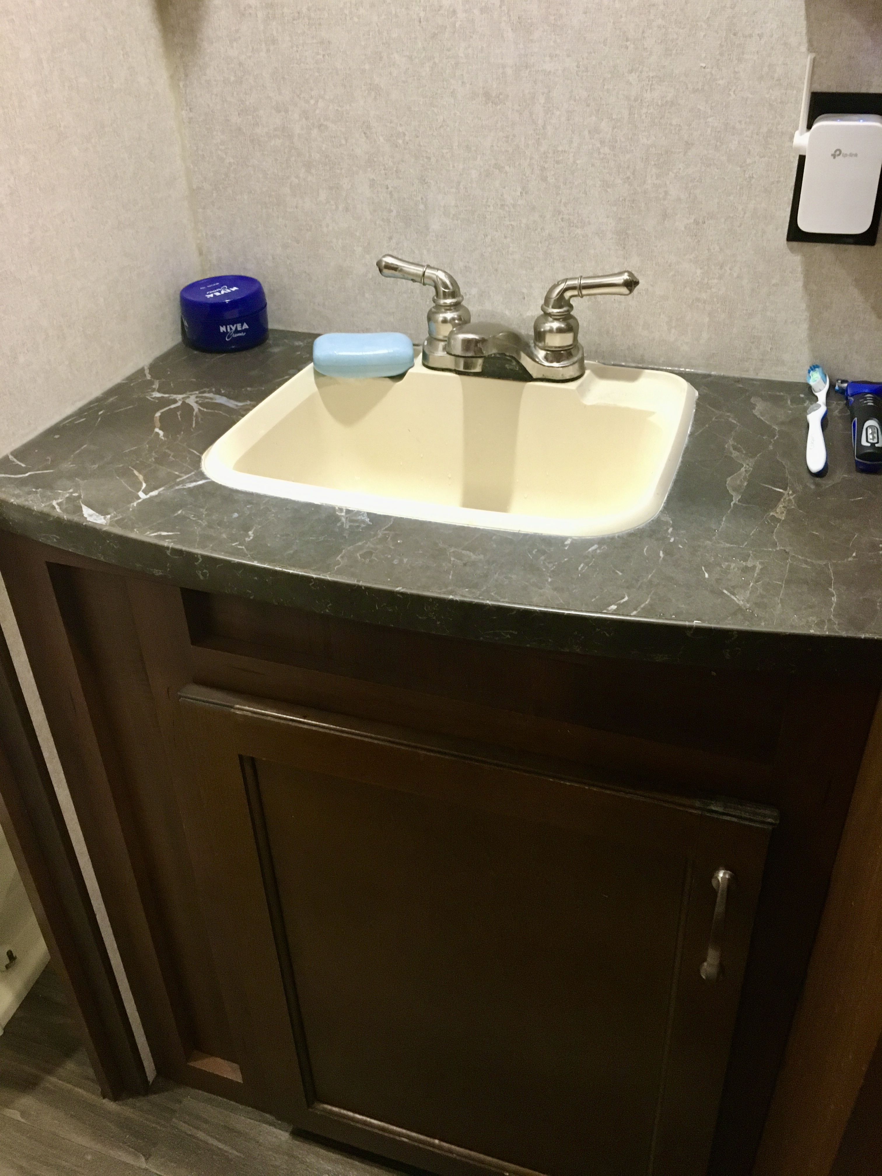 Bathroom Sink. Jayco Flight 2017