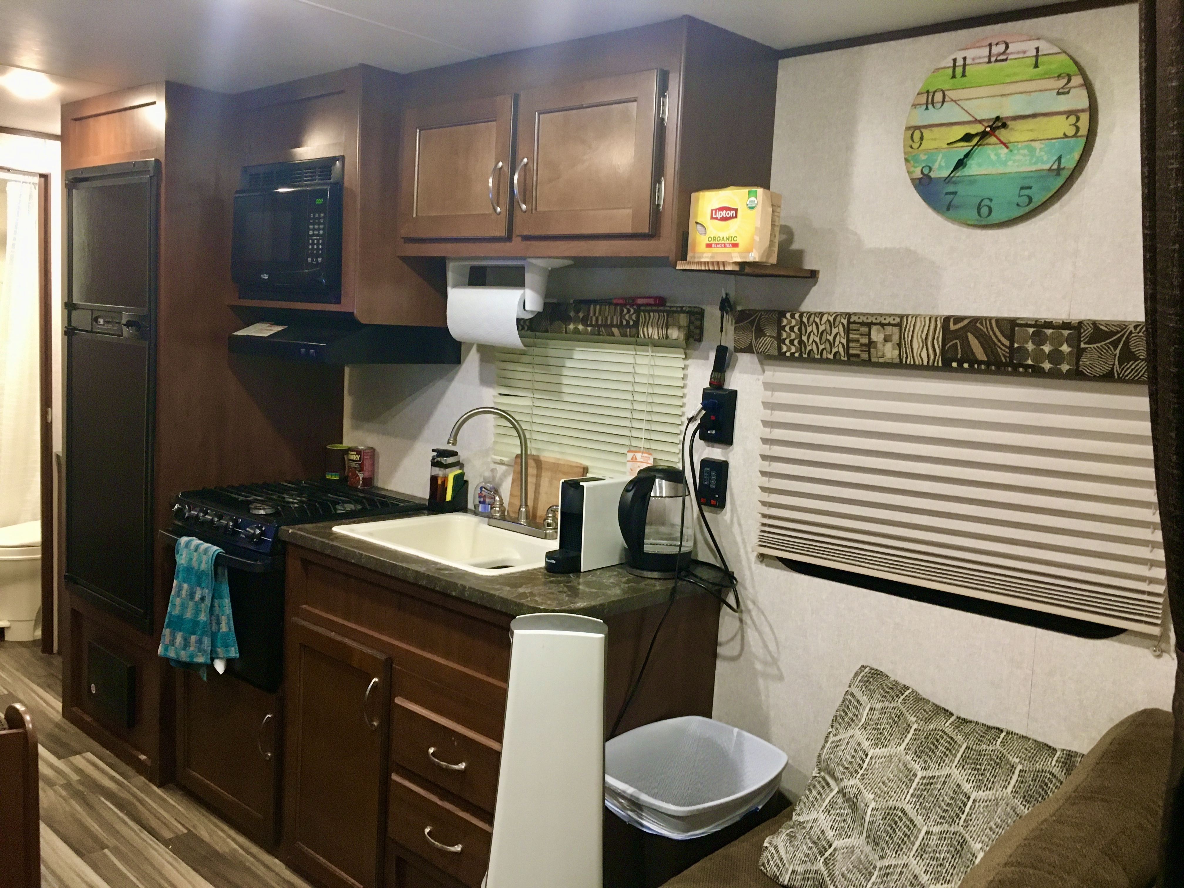 Kitchen have all you need. Jayco Flight 2017