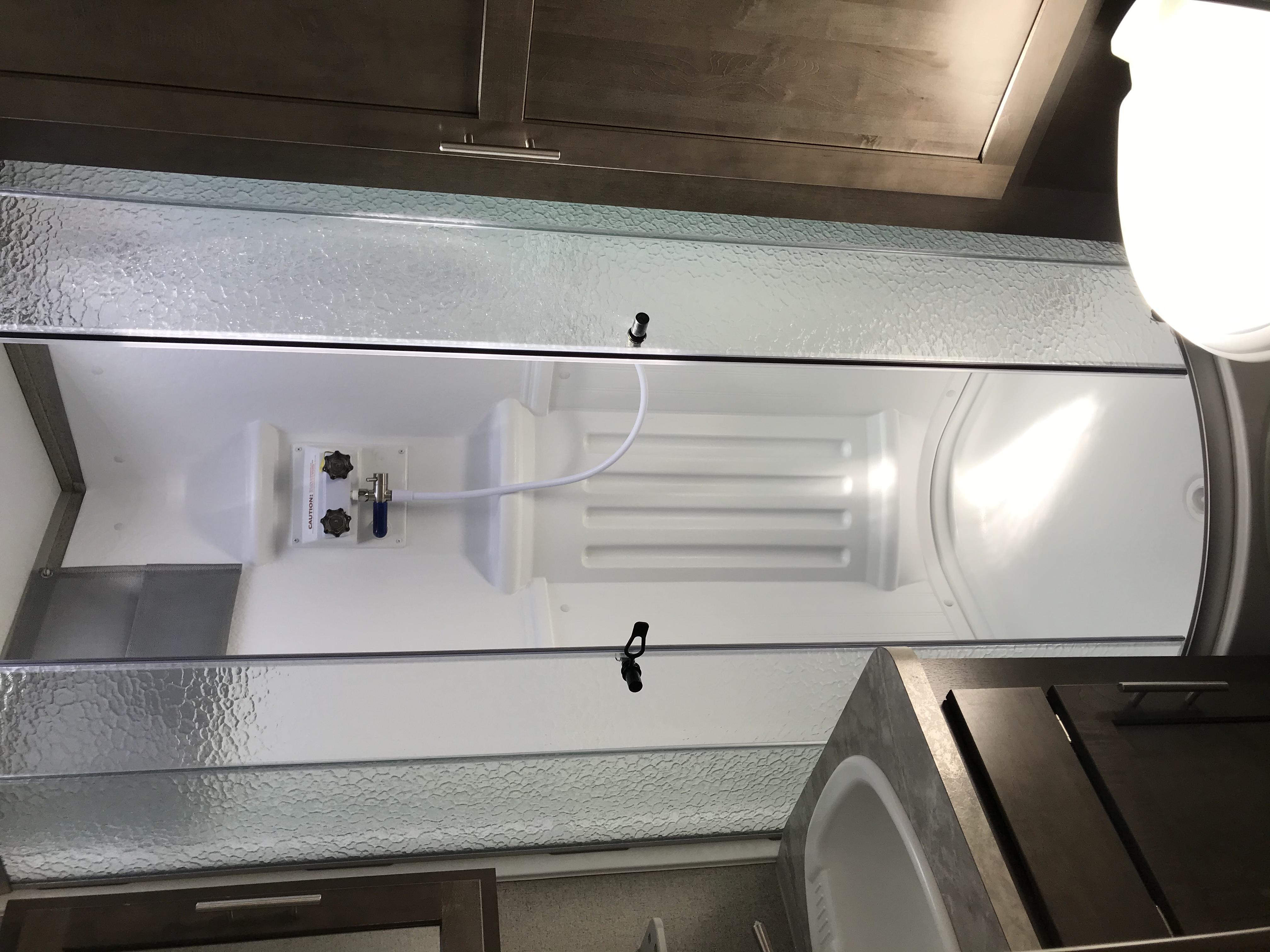 full bathroom. Forest River Rockwood Roo 233s 2021