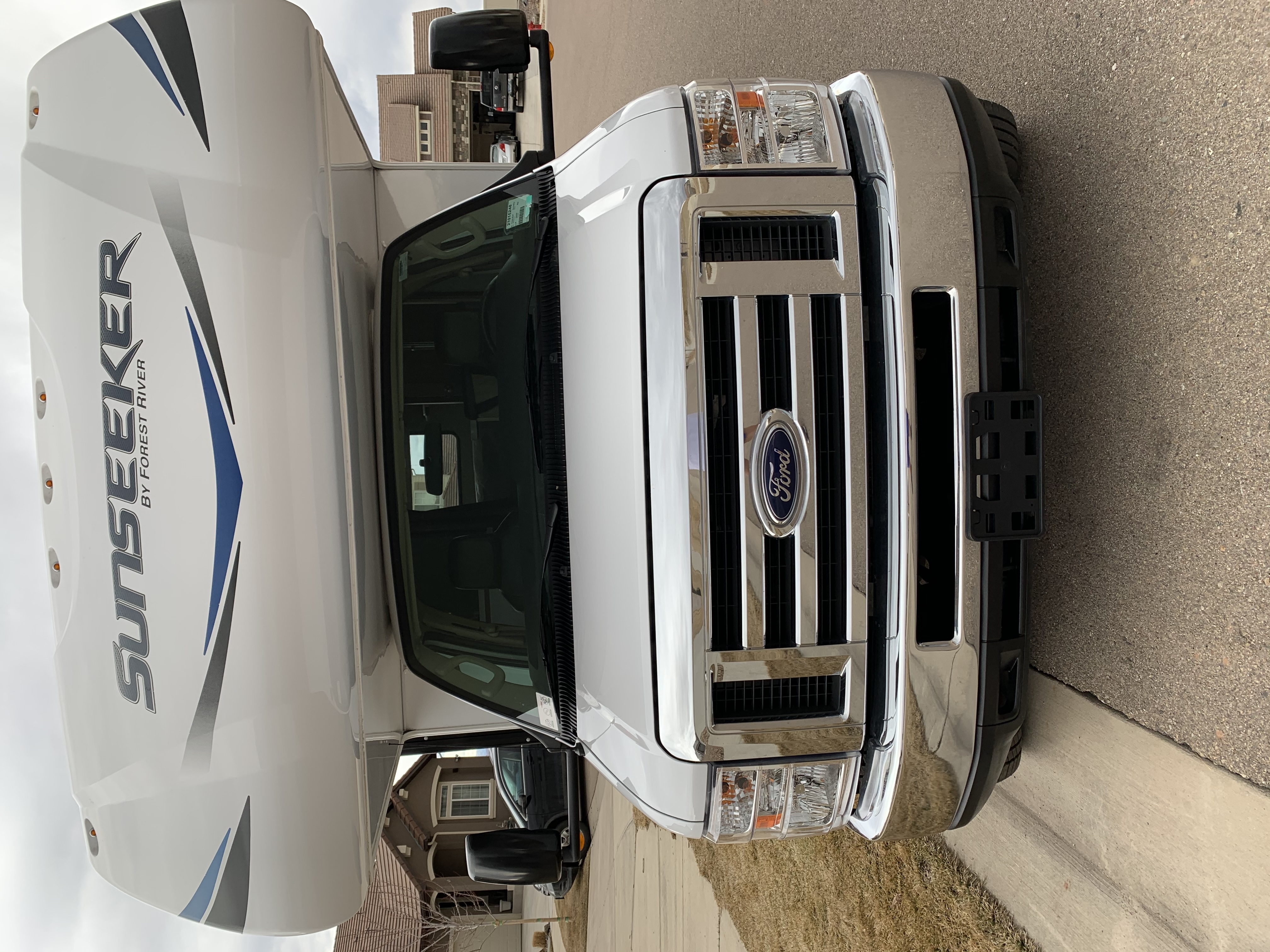 Ford E450. Forest River Sunseeker 2019