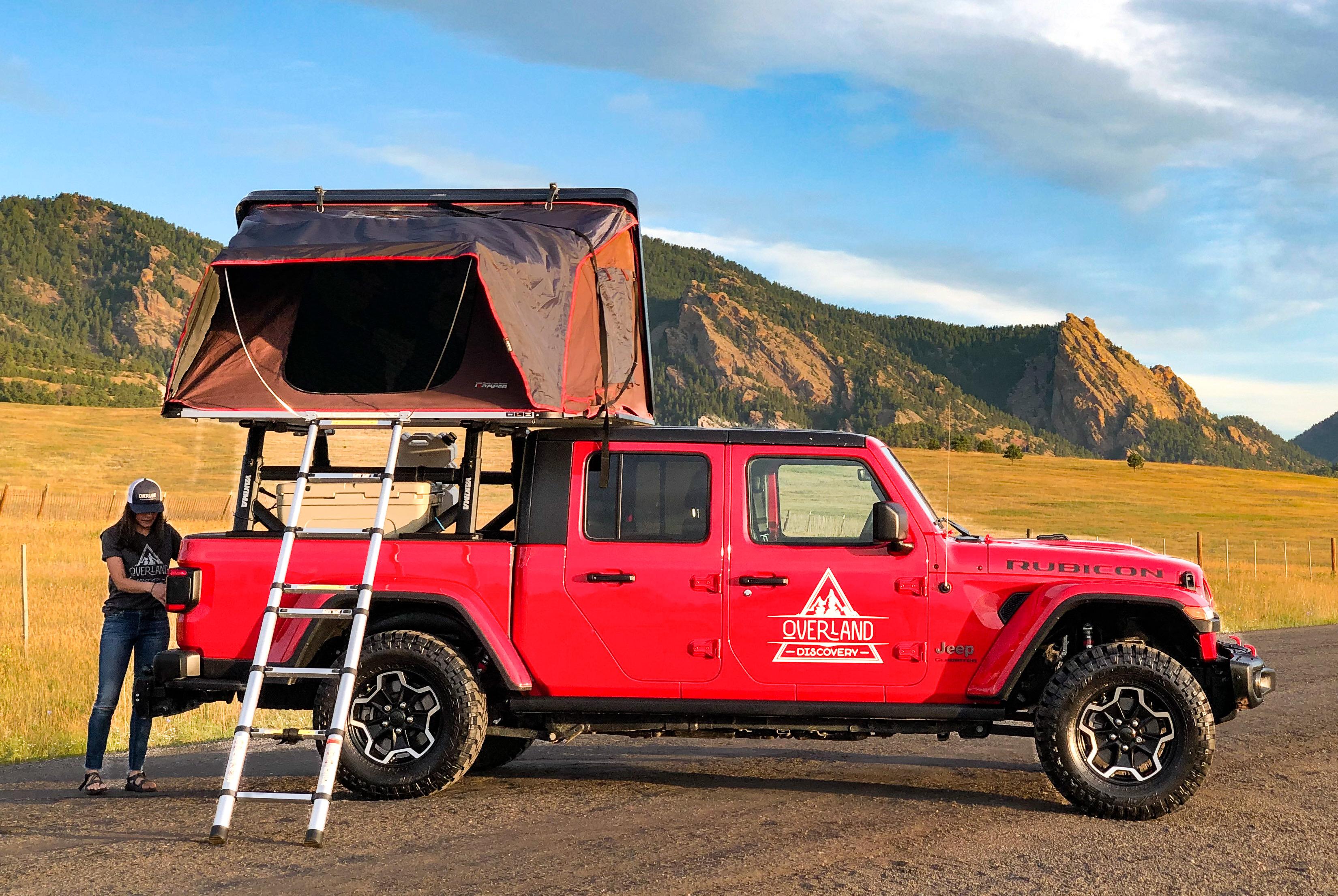 2020 Jeep Gladiator Truck Camper Rental In Denver Co Outdoorsy