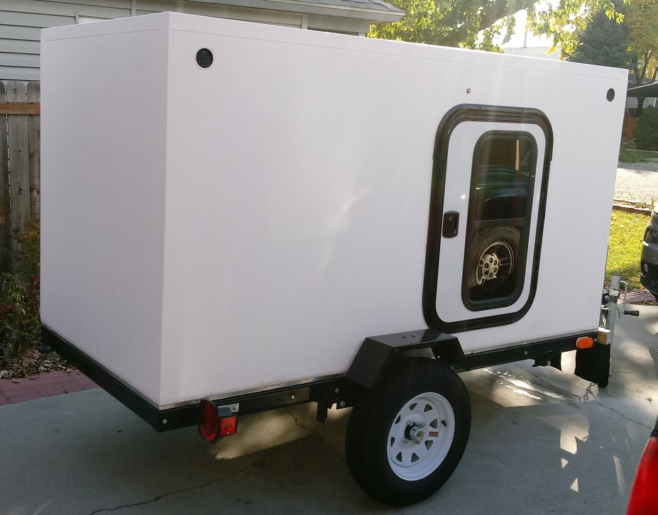 Curb Side Rear. Trailer Bug Out 2017