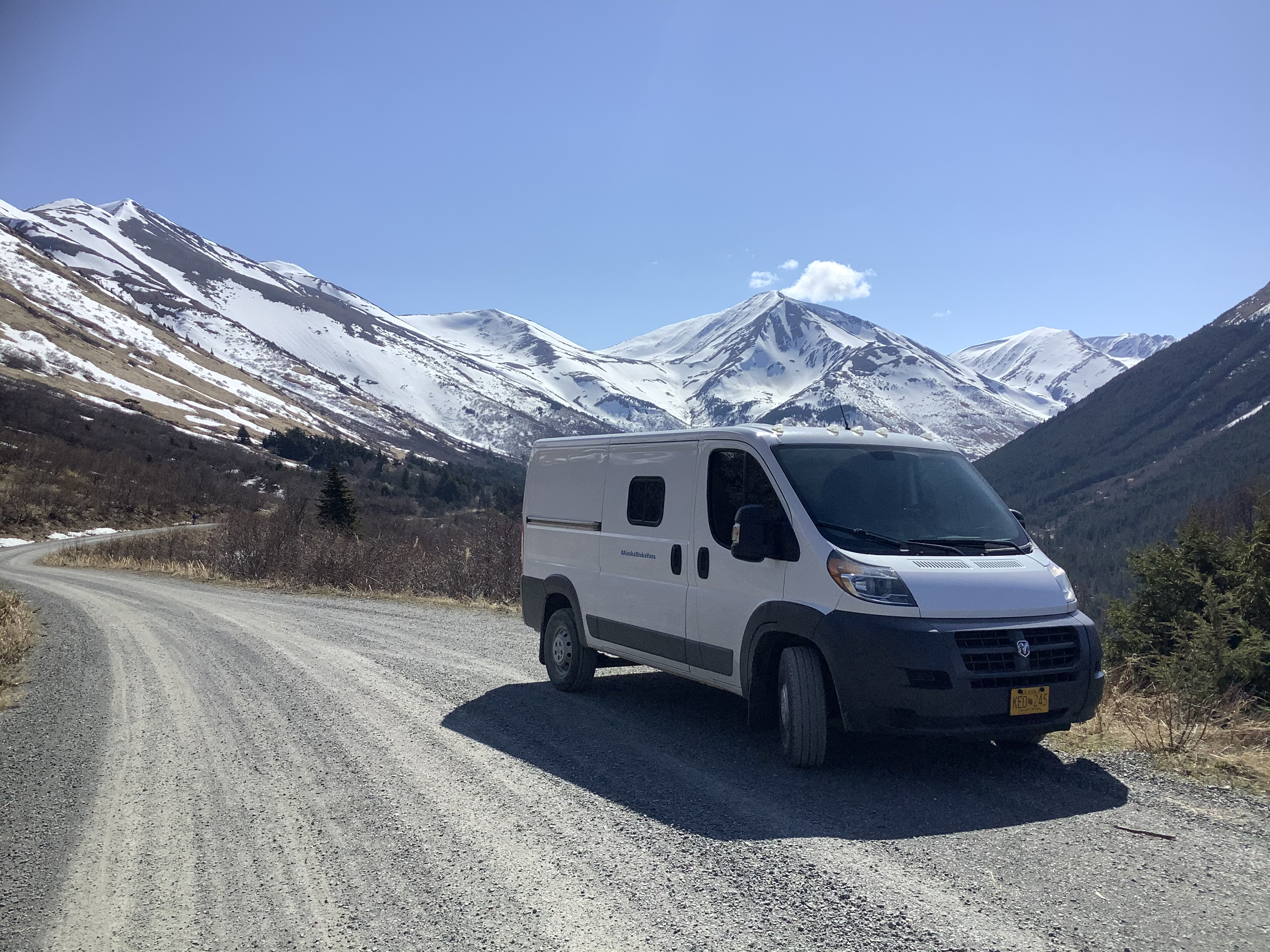 Be happy in AK.. RAM Promaster 1500 2017