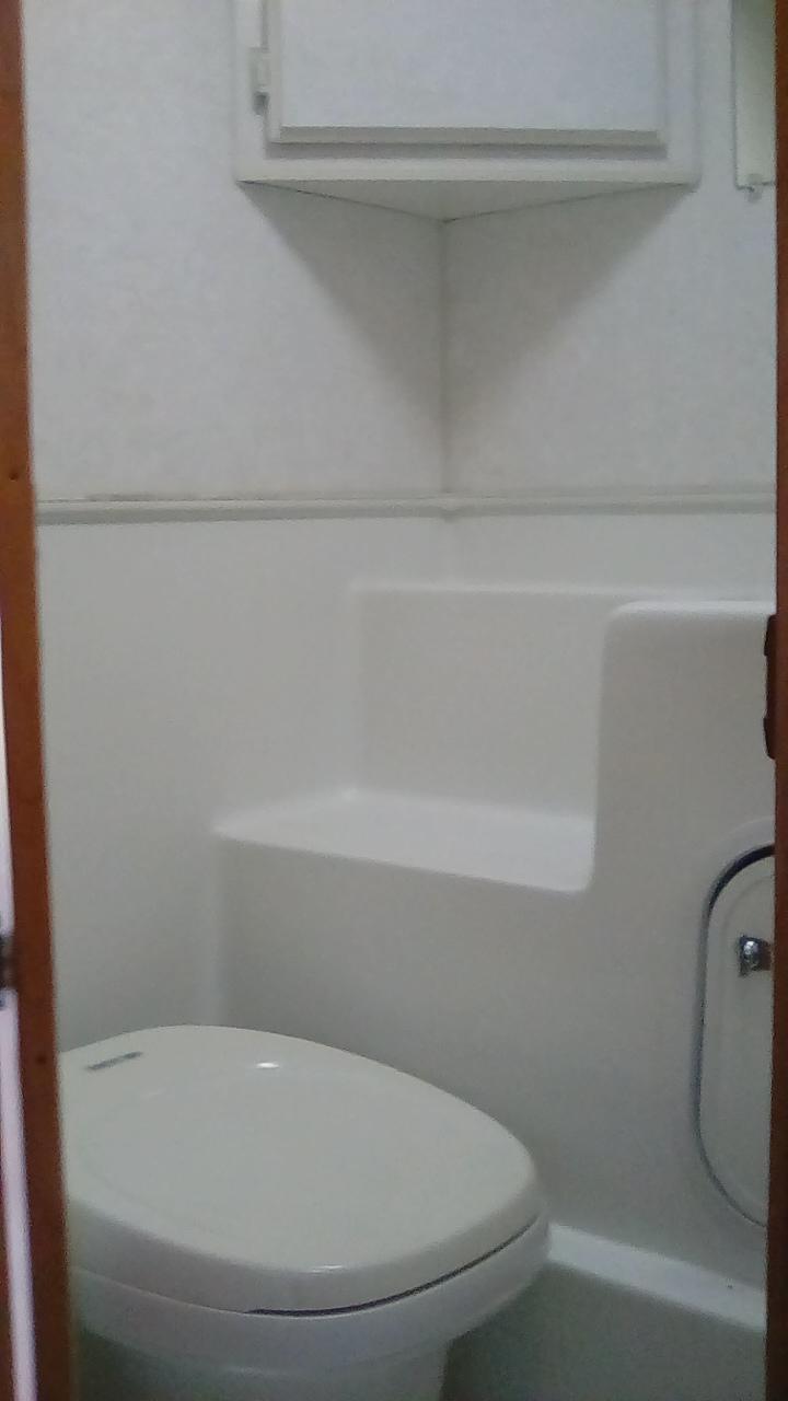 Toilet. Lance Lance Camper 1997