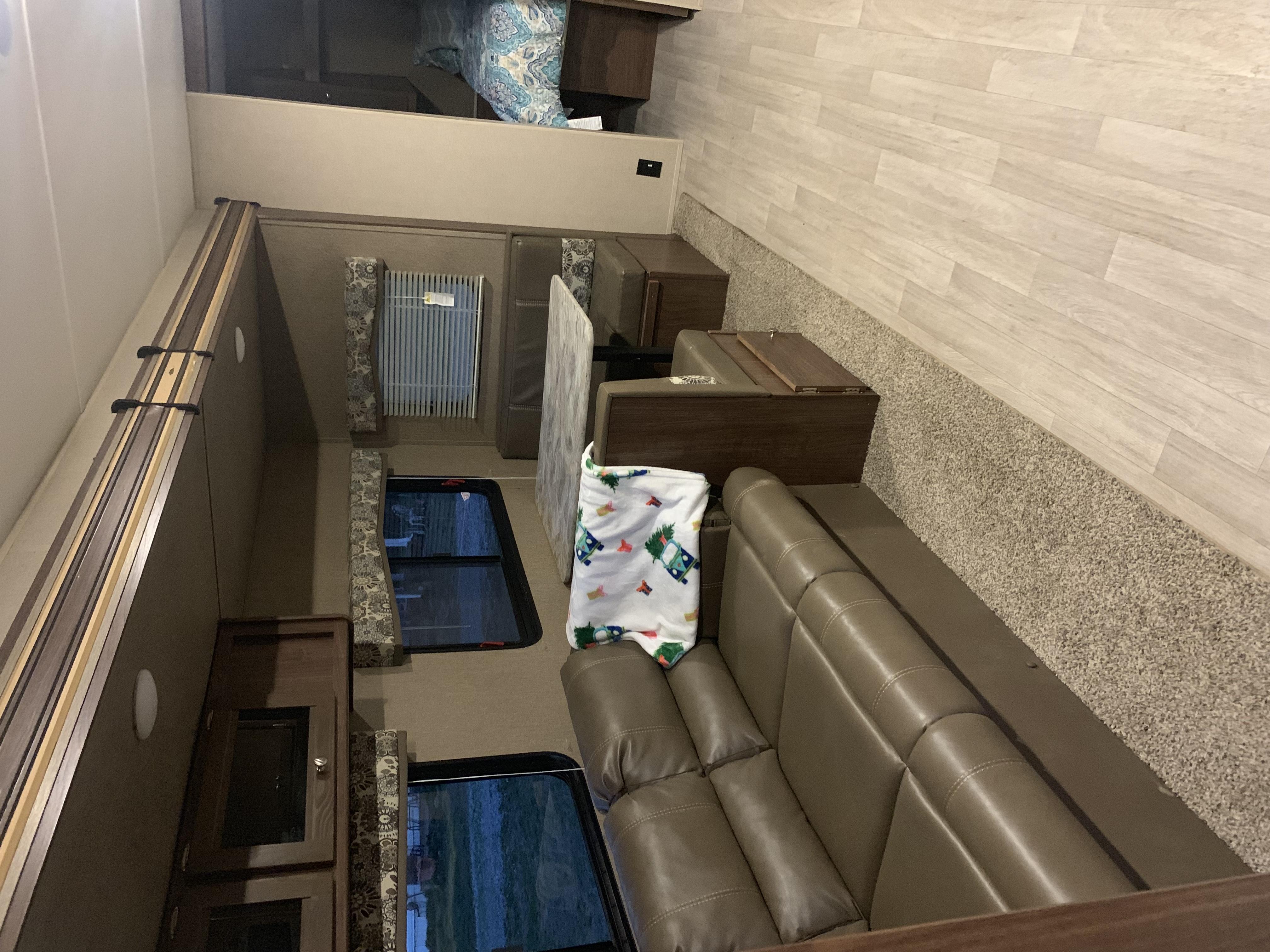 Cabin area. Coleman Lantern Edition 2018