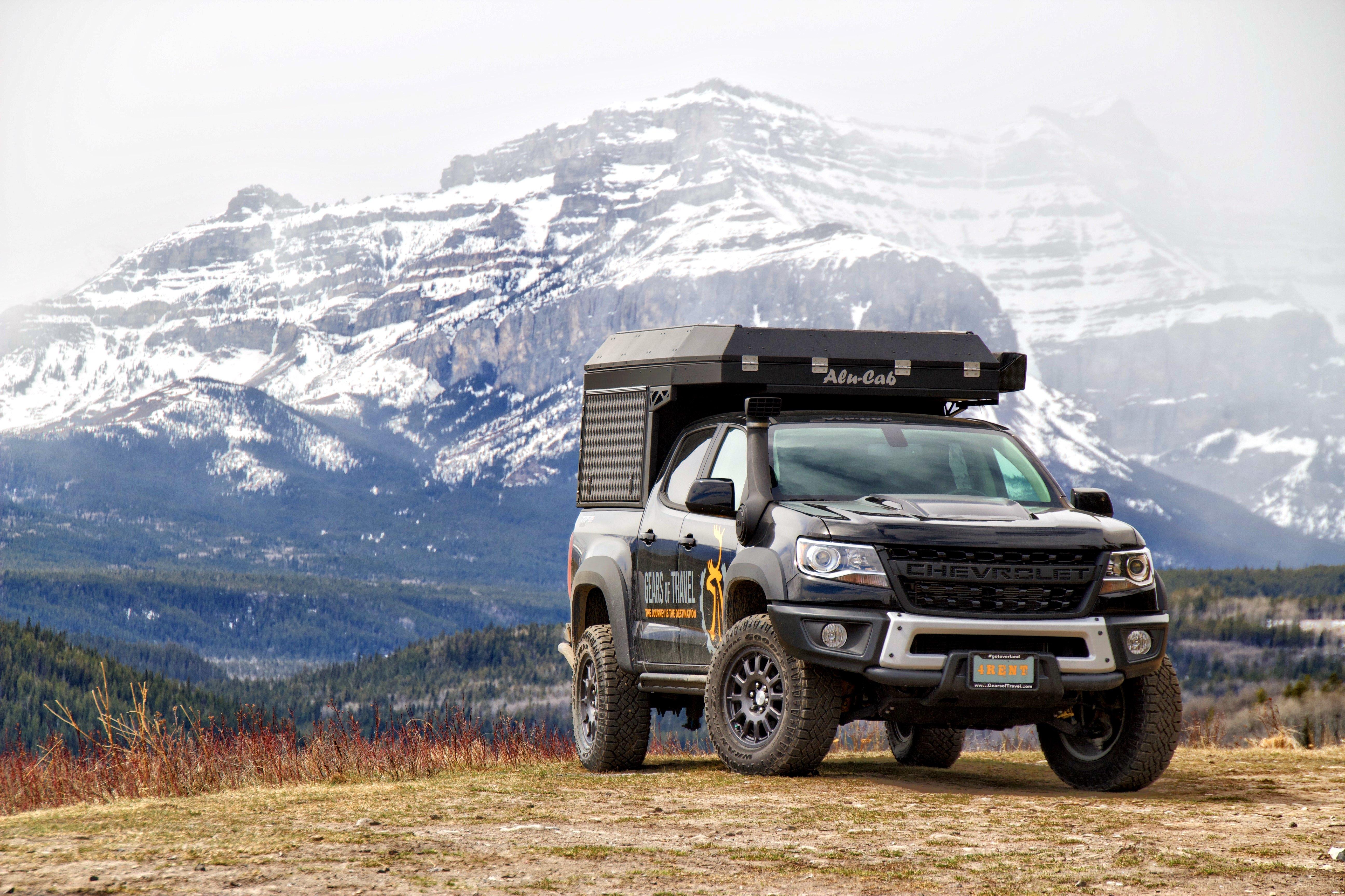 2019 Chevrolet Colorado Zr2 Bison Truck Camper Rental In Calgary Ab Outdoorsy