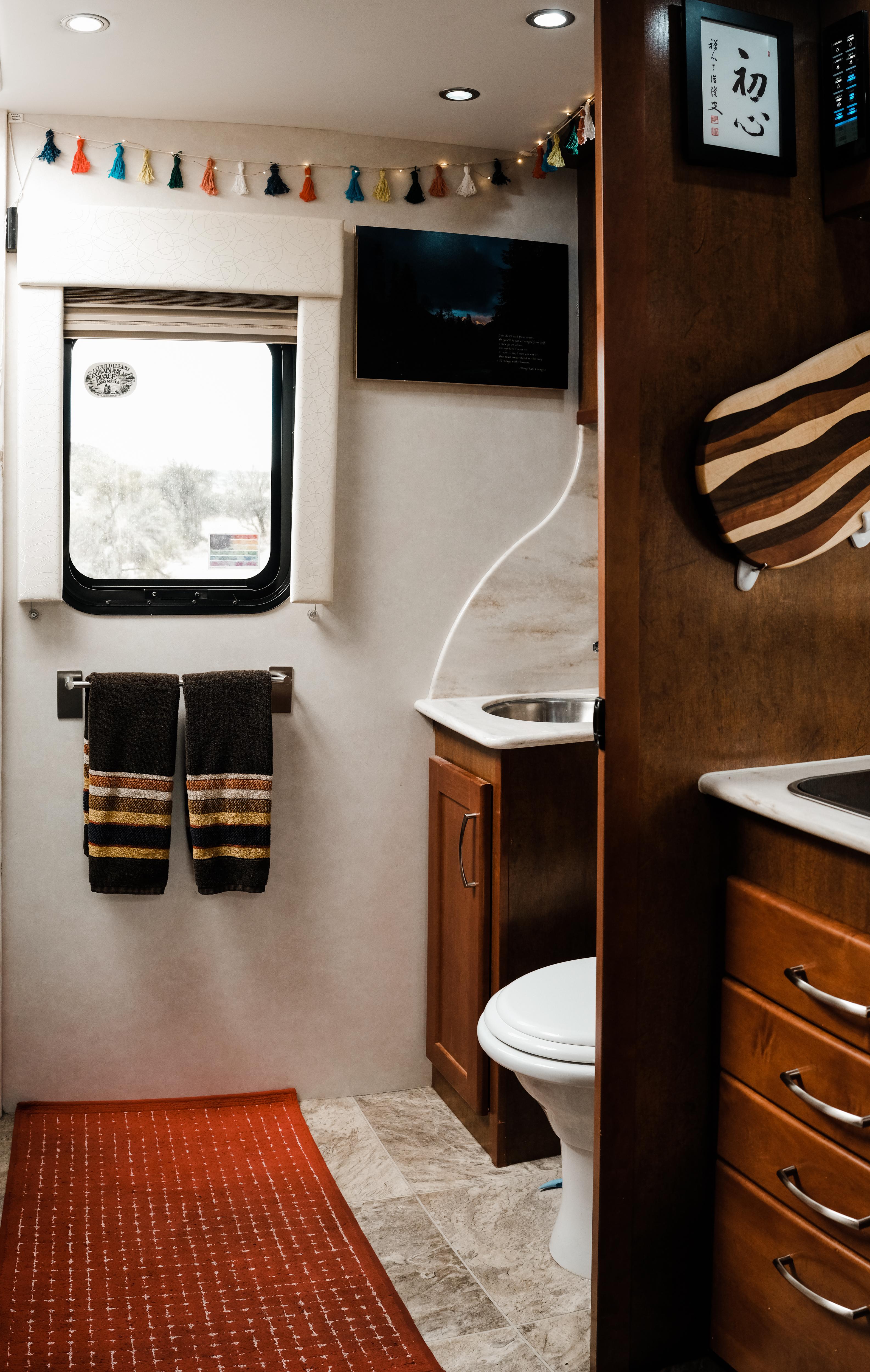 Bathroom.. Pleasure Way Plateau 2016