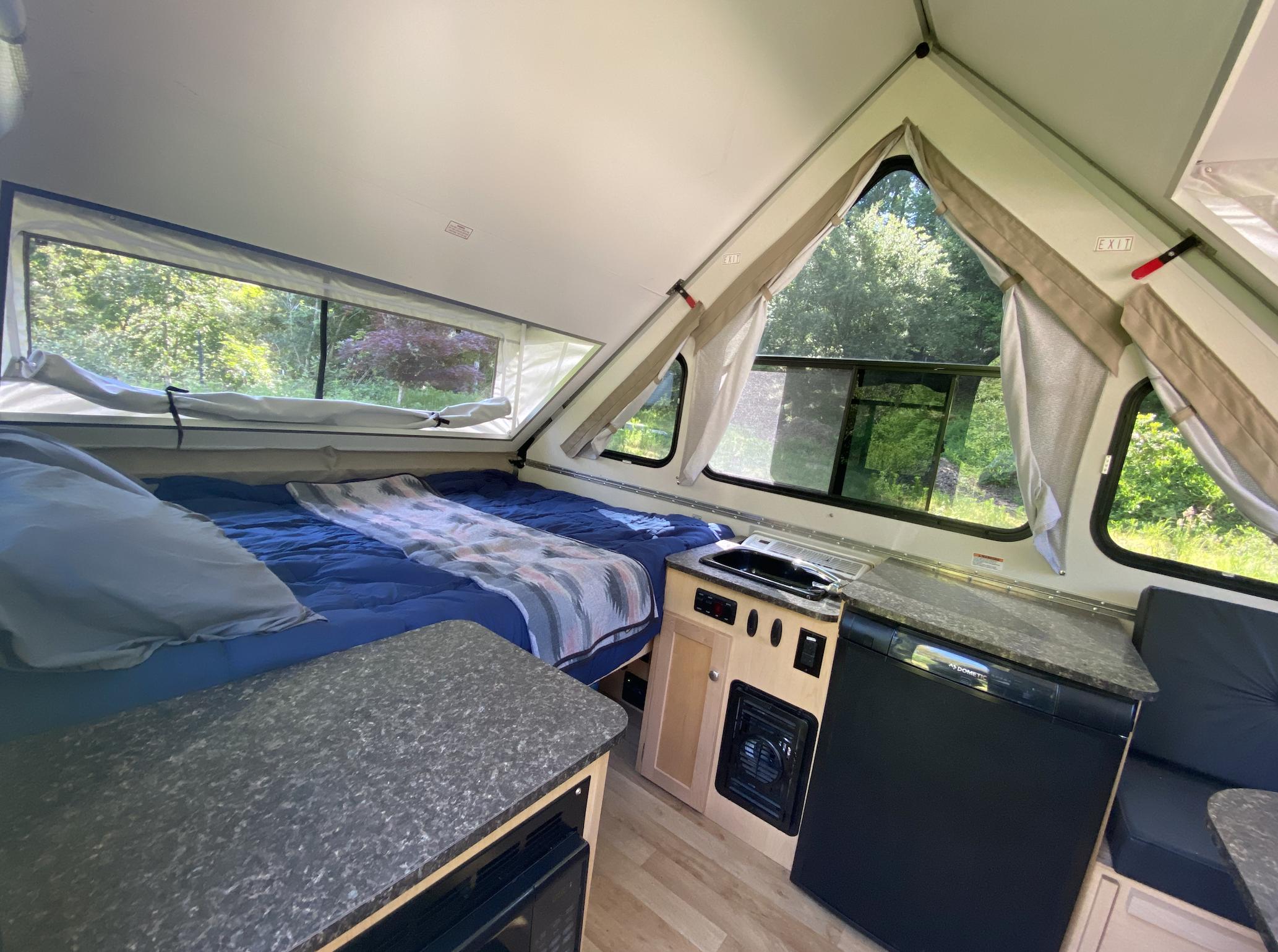 Big A-Frame windows.. A-Liner Classic 2019