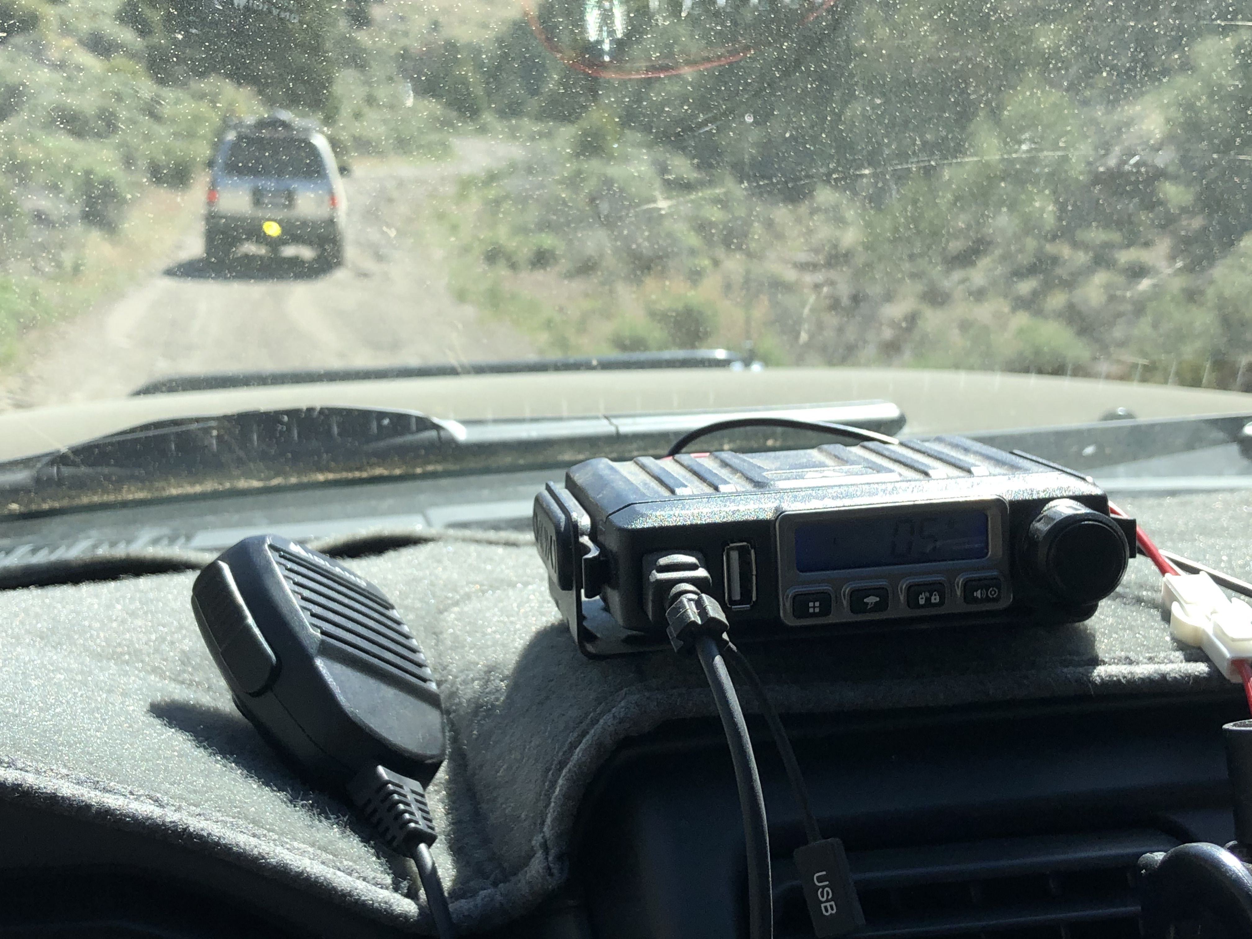 Midland Radio to keep in touch with your friends.. Nissan Xterra 2004