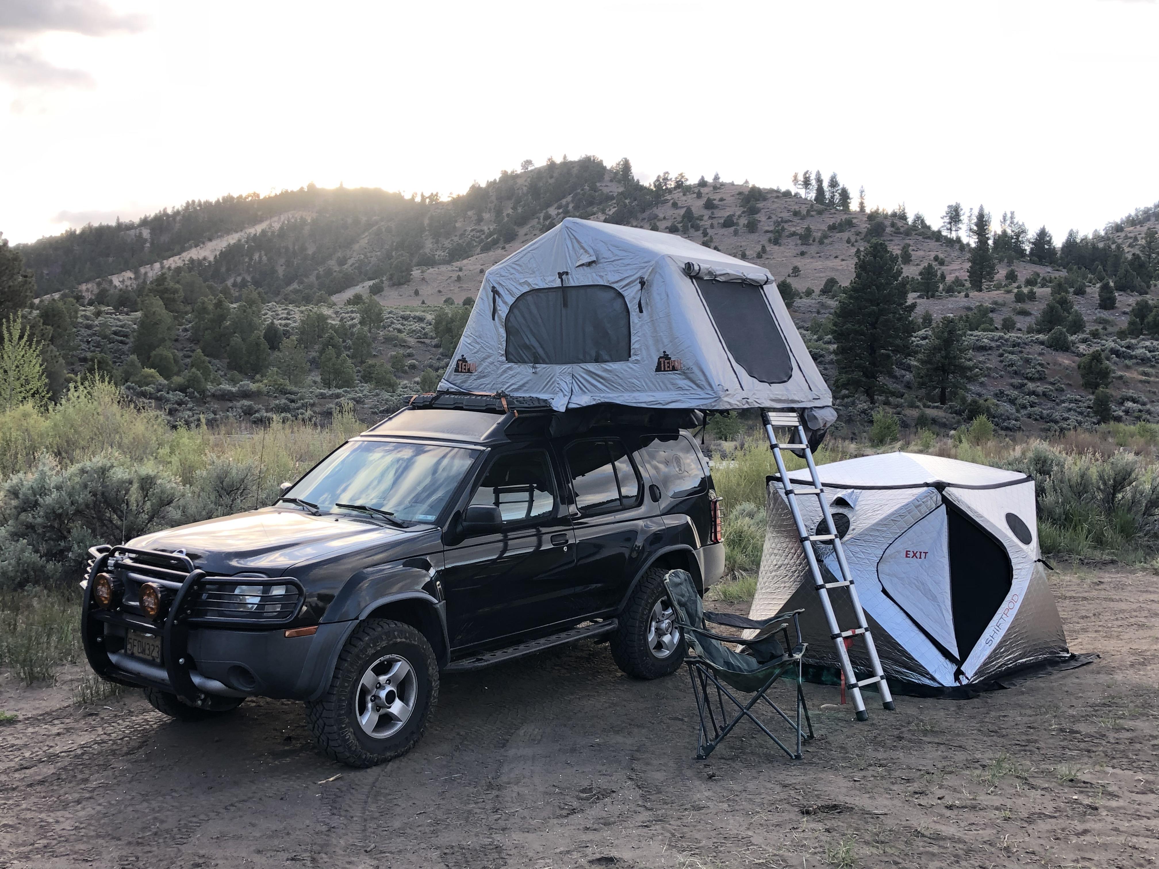 2004 Nissan Xterra Truck Camper Rental In El Sobrante Ca Outdoorsy