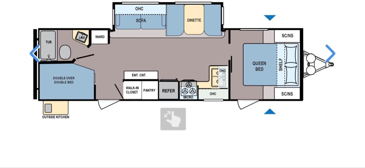 Floor Plan. Coleman Colemanlight 2019