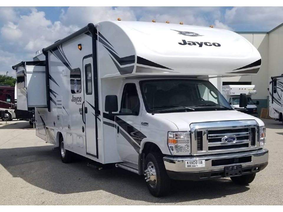 bedroom and main area slide out. Jayco Redhawk 2019