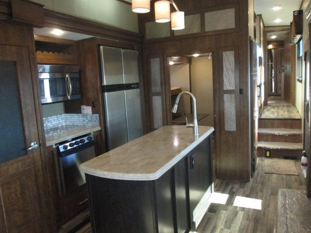 Kitchen and center island. Coachmen Brookstone 2017