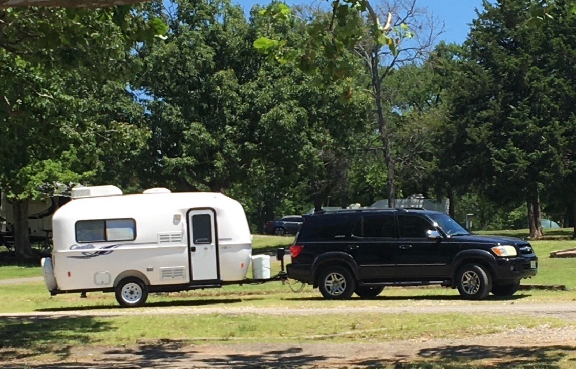 lightweight and easy to tow. Casita 17' Liberty Deluxe 2019