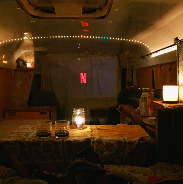 Want to watch netflix at night? Let us know and we can include the projector for this awesome date night!. Ford Ford E350 2002