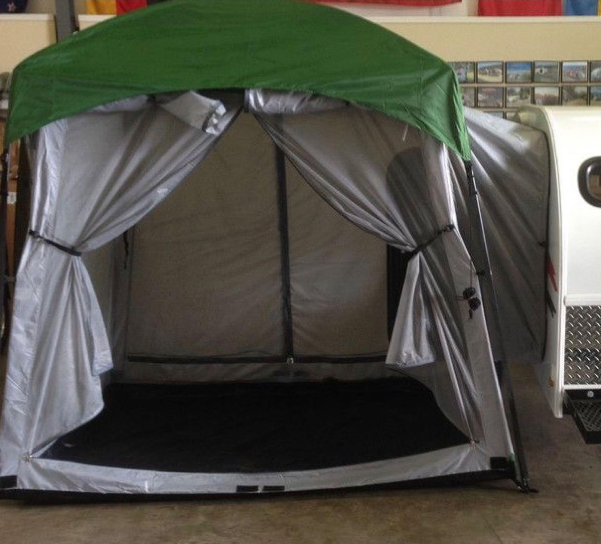 8 x 5' side tent. LittleGuy LittleGuy5Wideroughrider 2016
