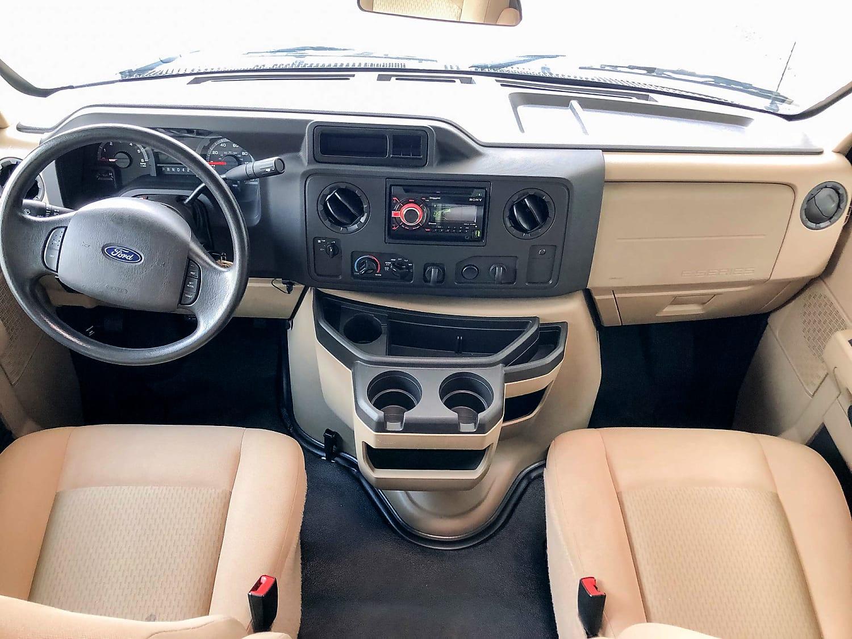 Cab seating. Thor Motor Coach Freedom Elite 2019