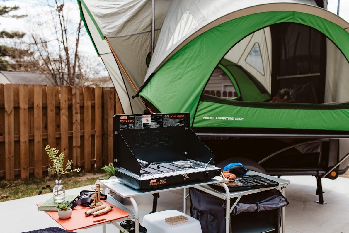 exterior with kitchen set up!. sylvan sport Sylvan Sport Go 2017