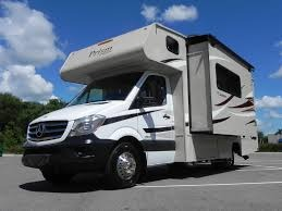 Automatic slide-out creates lots of extra floor space. . Mercedes-Coachmen Prism 2016