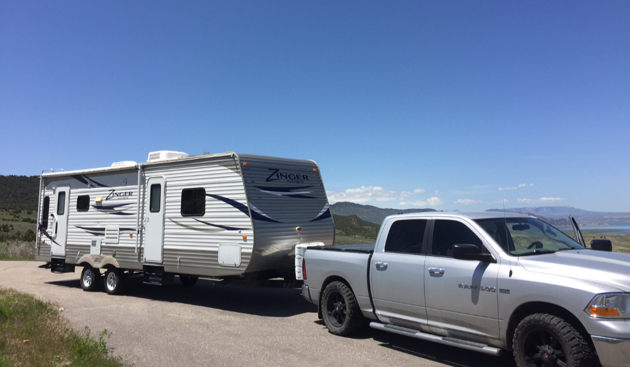 Truck for towable reference. Crossroads Zinger 2013