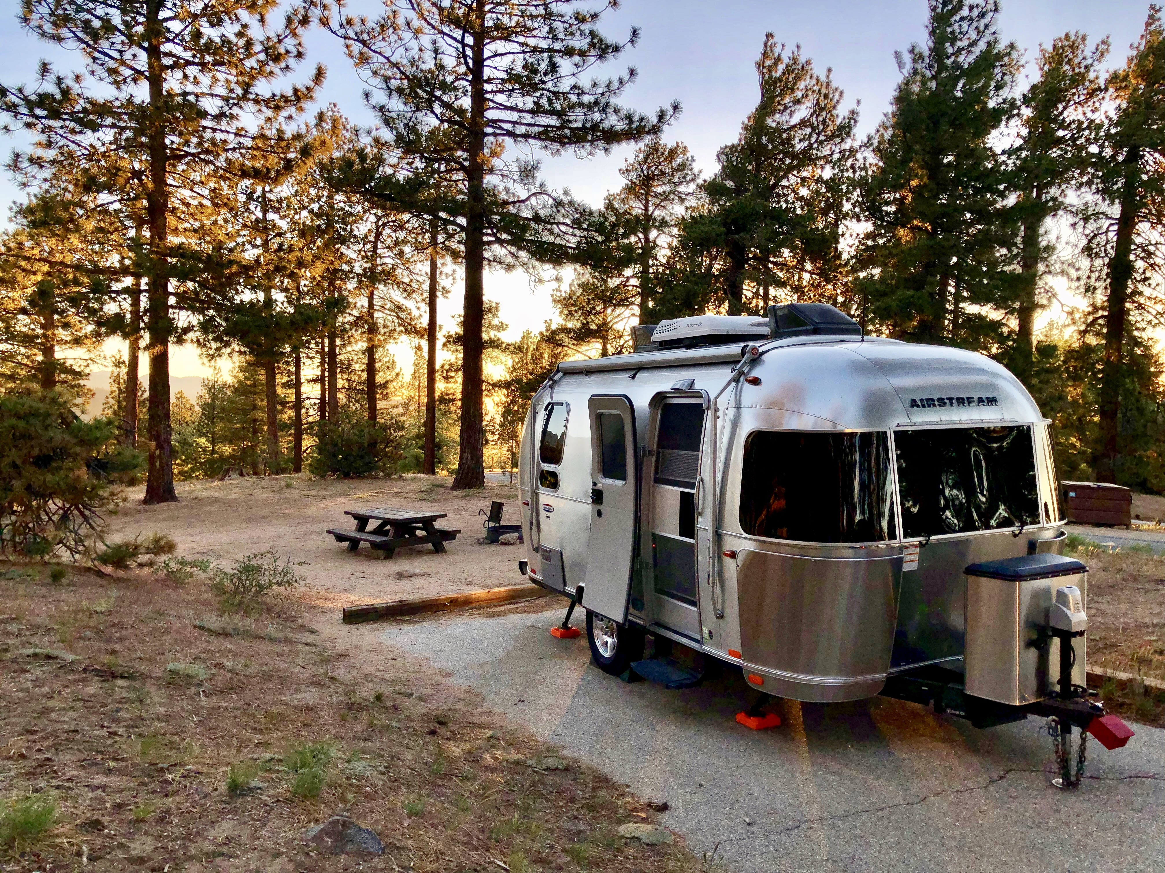 Table Mountain Campground in Llano, CA. Airstream International 2016