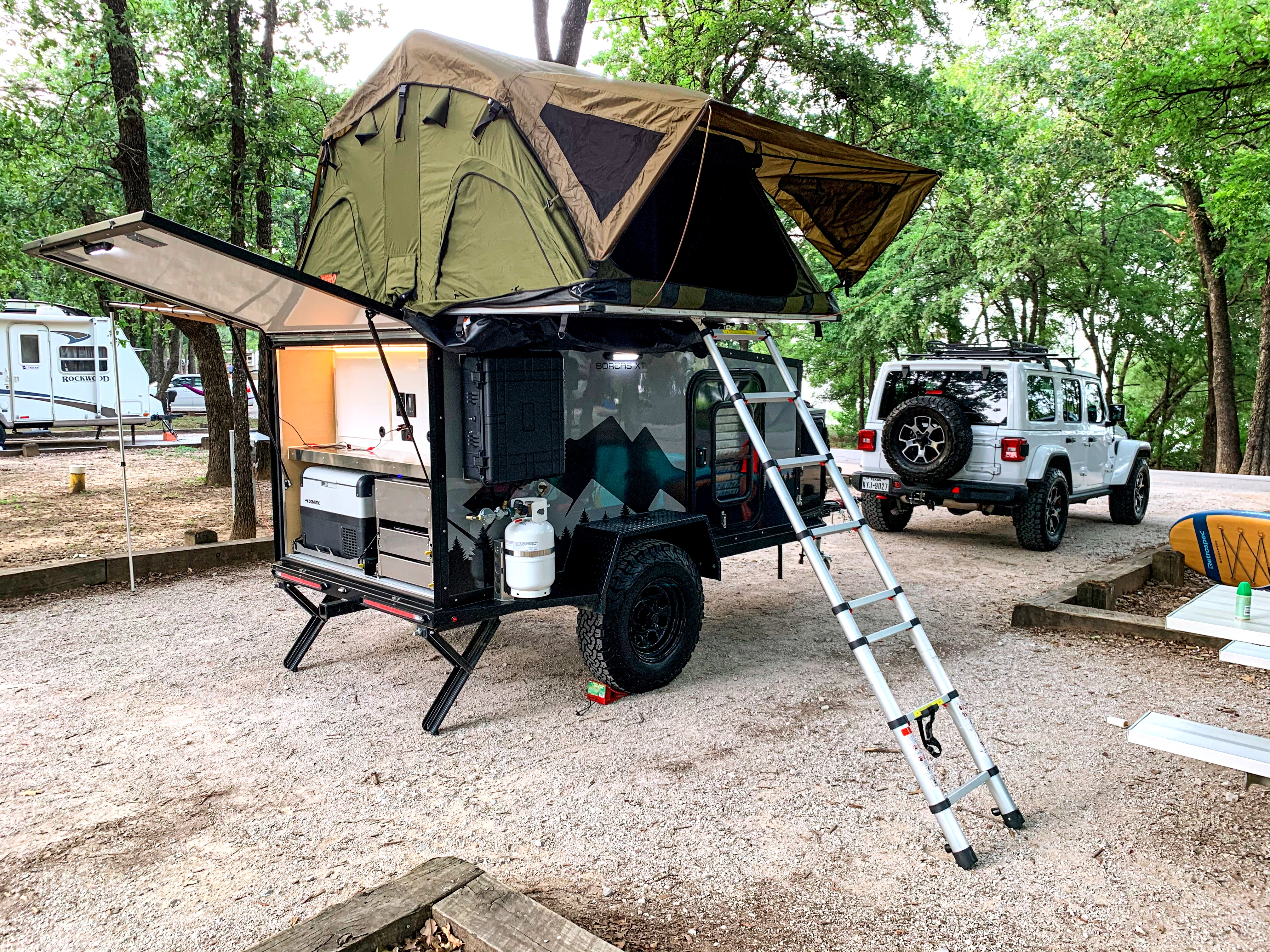 Your personal basecamp deployed.. Boreas Campers XT 2020