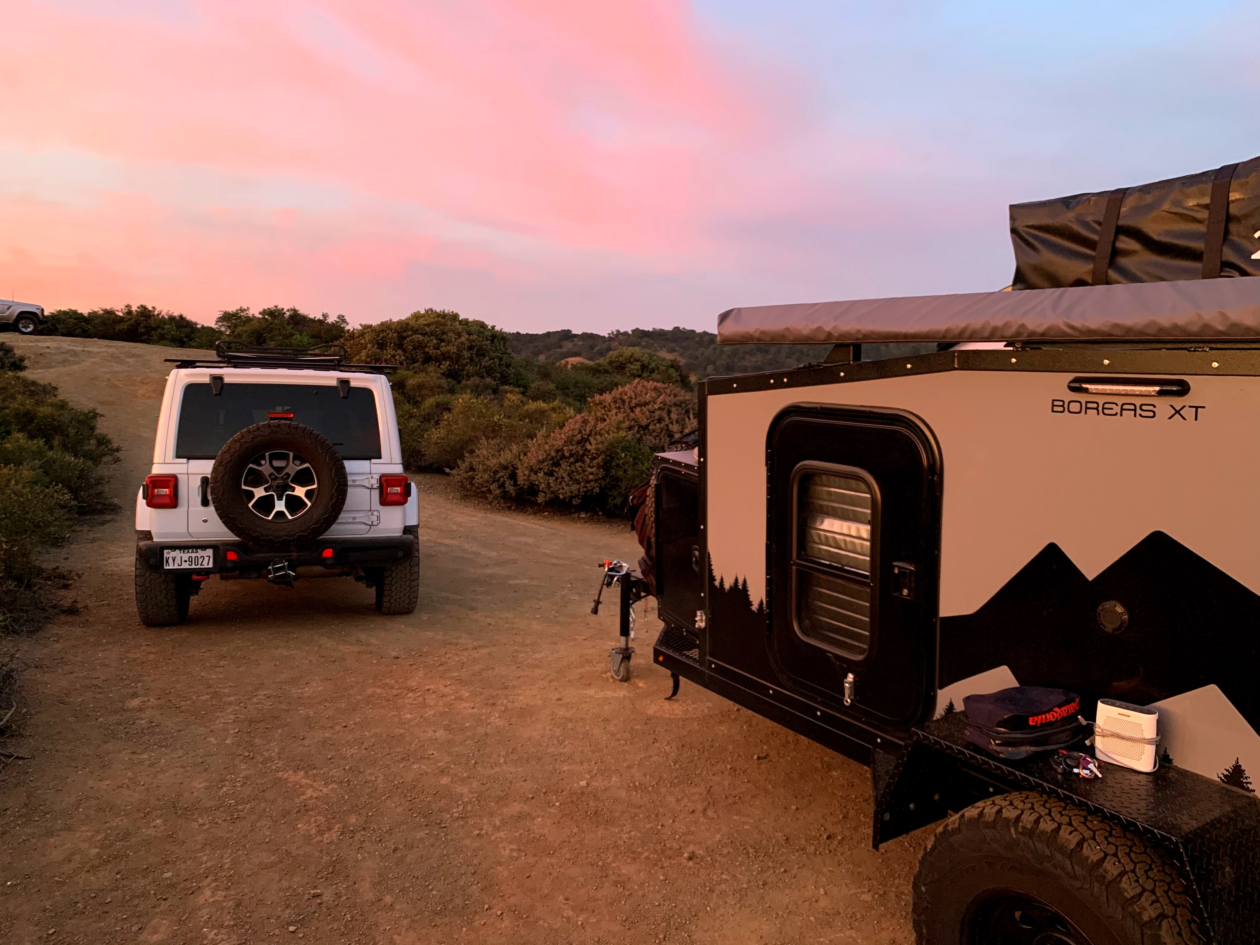 Just living one sunset at a time from the comfort of your own personal basecamp.. Boreas Campers XT 2020