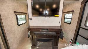 Electric fireplace for cool nights (saves gas).  Three TVs. Open Range 3110BH 2017