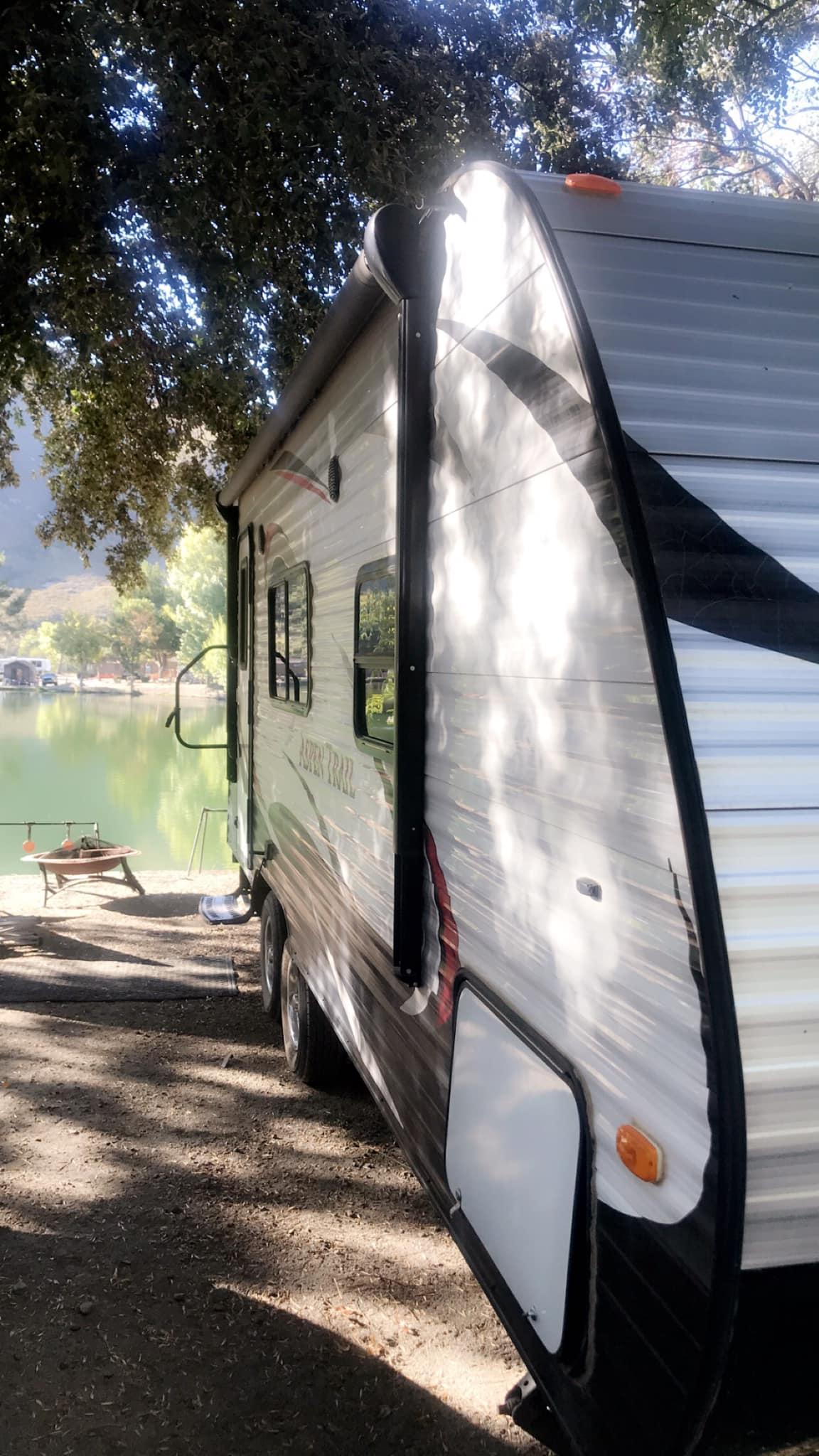 Mountain Lakes Resort campground near me Lytle Creek CA. Dutchmen Aspen Trail 2015