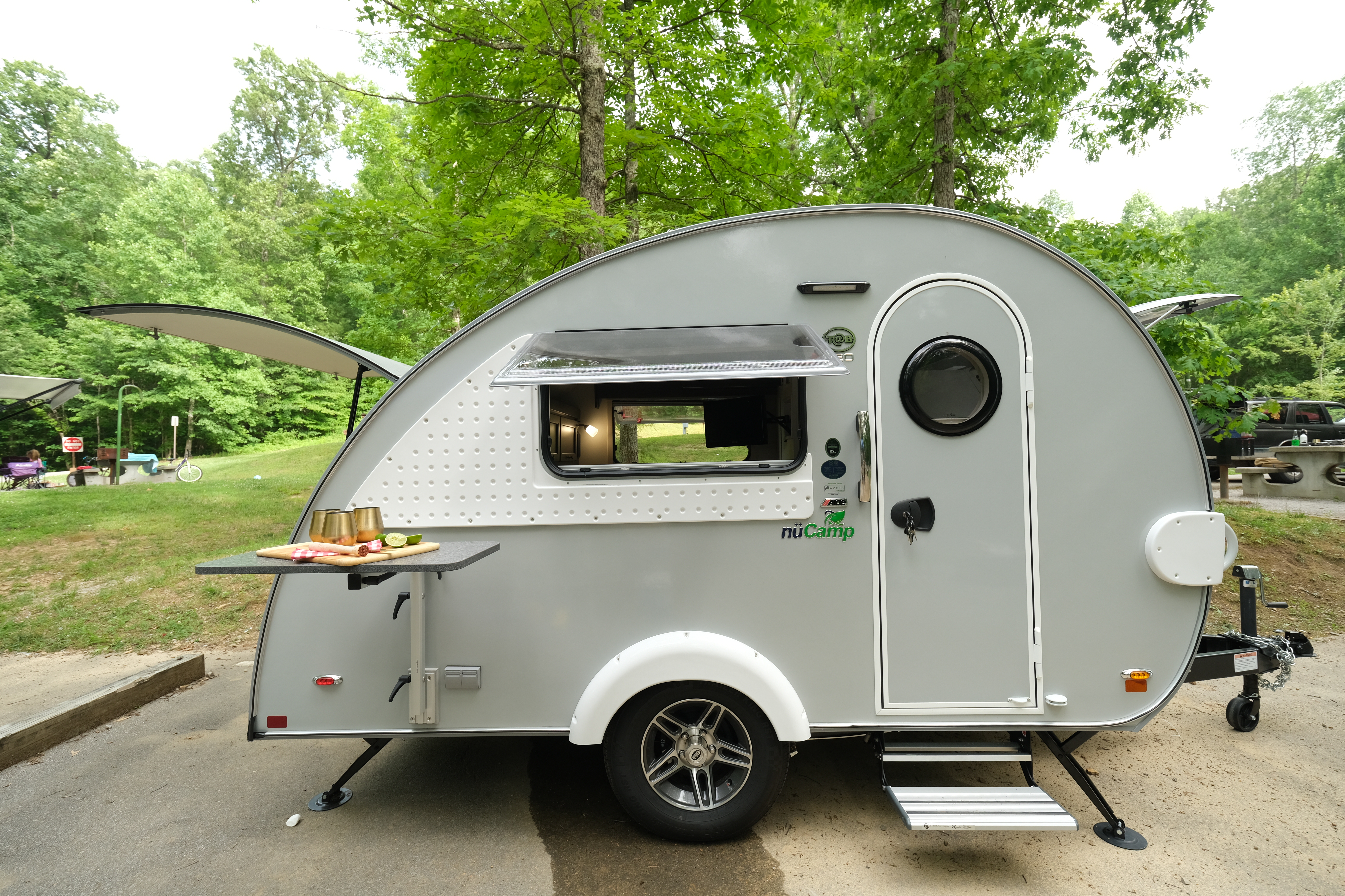 Camper Entrance. T@B 320 CS -S Clamshell 2020