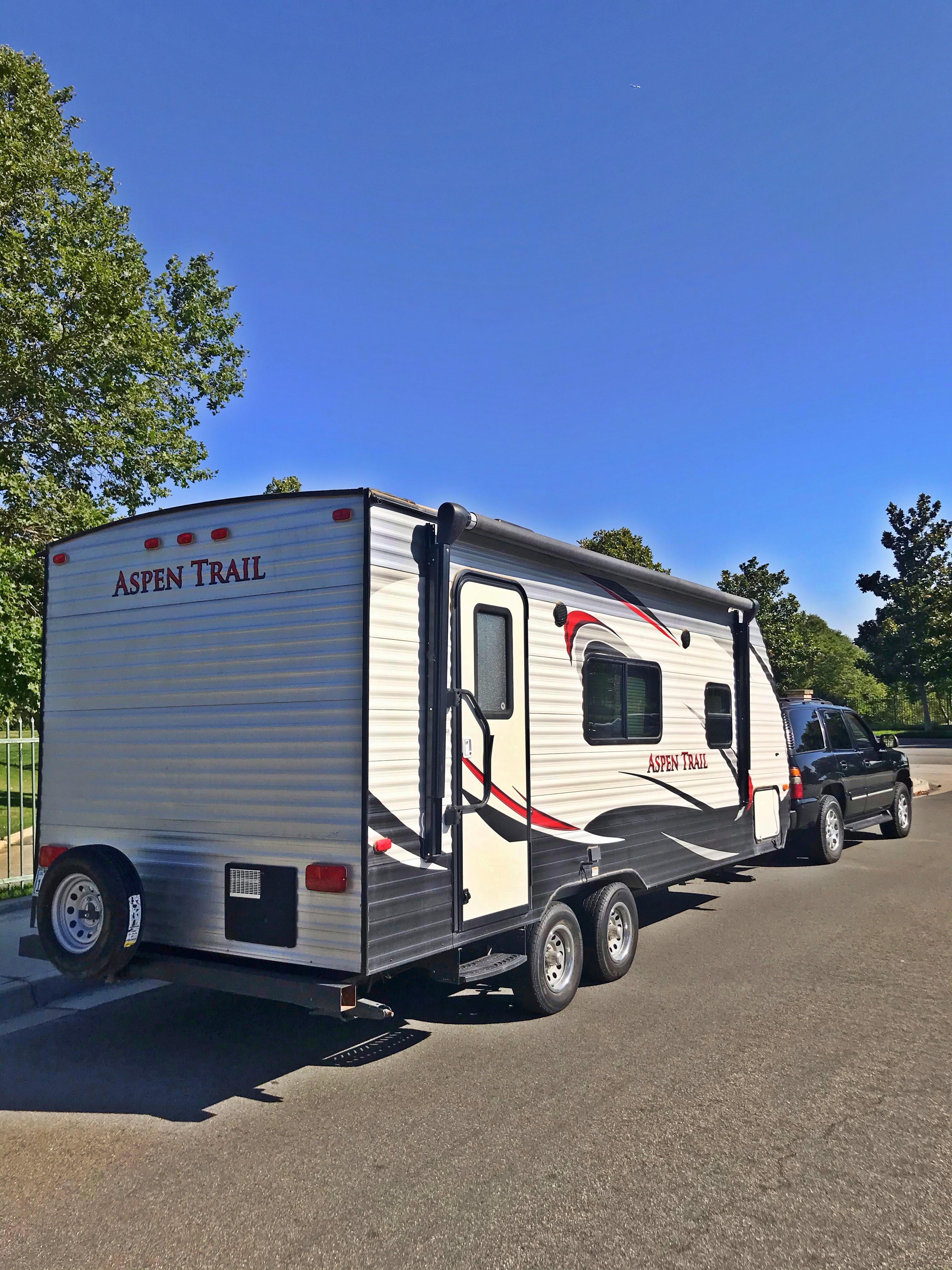 Dutchmen Travel Trailer Camper Rental Rent Near Me in Fontana California CA. Dutchmen Aspen Trail 2015