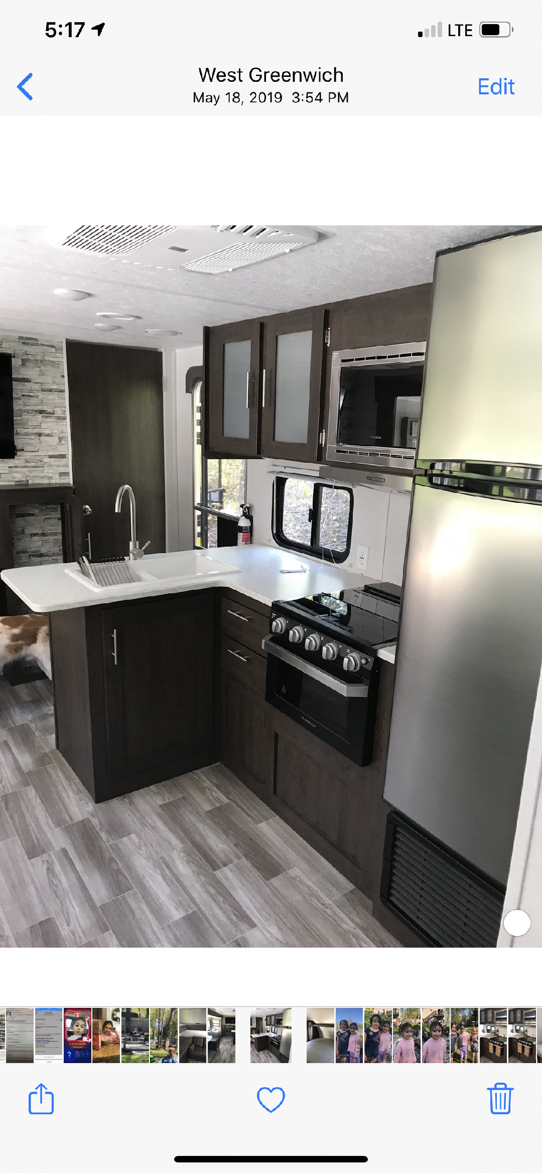 Stove & oven, counter space and double sink!. Forest River Wildwood xlite 2019