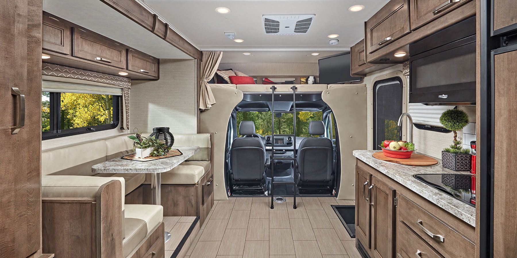 The slide gives you great cabin space. Jayco Melbourne 2020