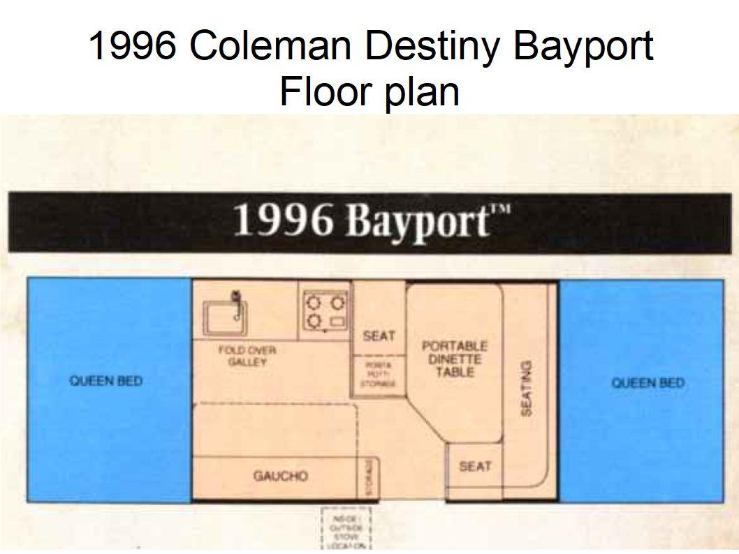 1996 Coleman Destiny Bayport Folding Trailer Rental In Colorado Springs Co Outdoorsy
