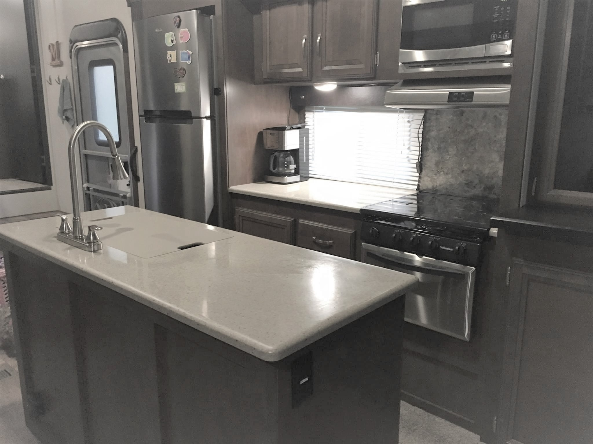 Kitchen. Forest River Salem Hemisphere 2017
