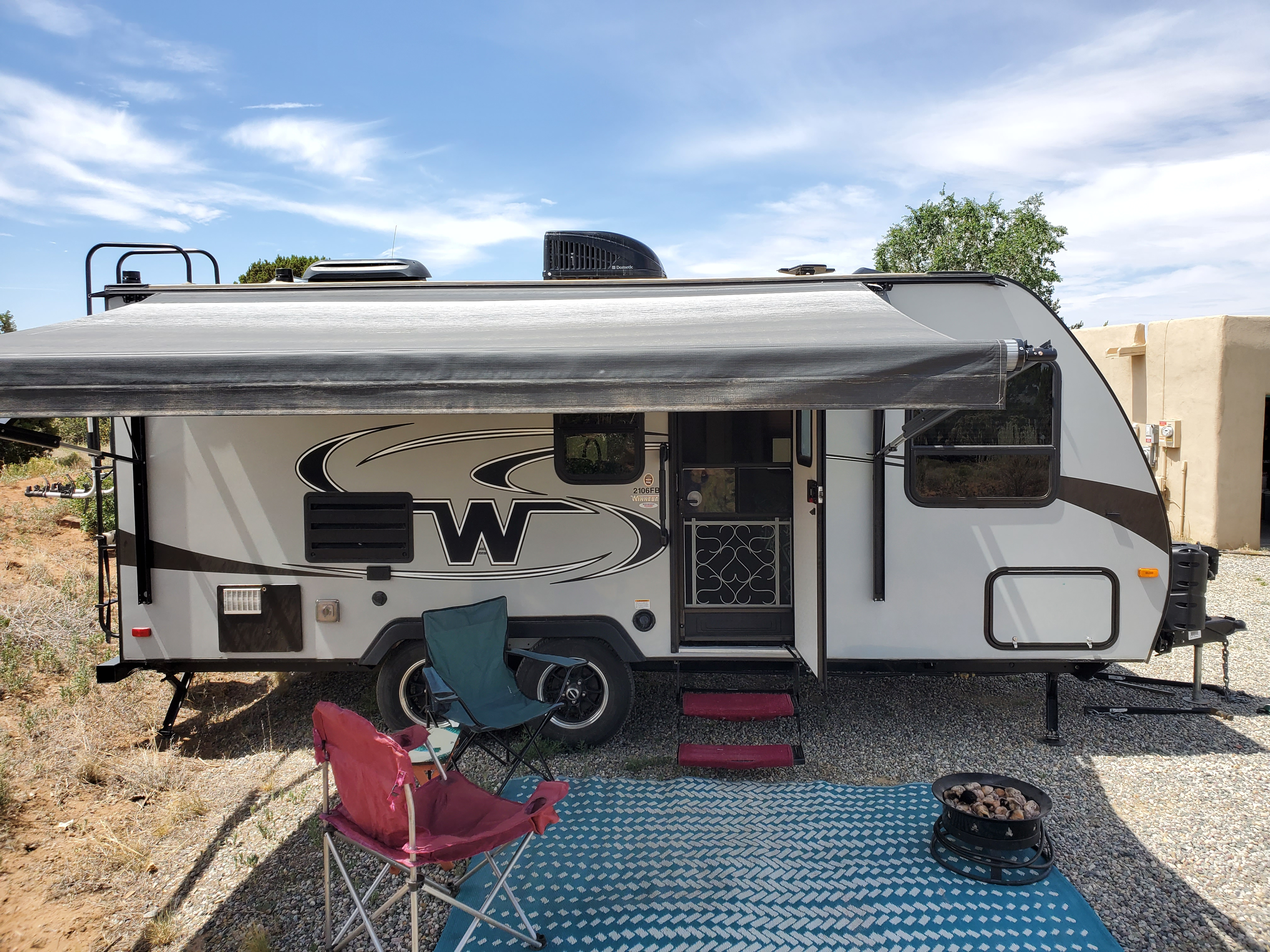 Set up for Relaxation. Winnebago Micro Minnie 2017