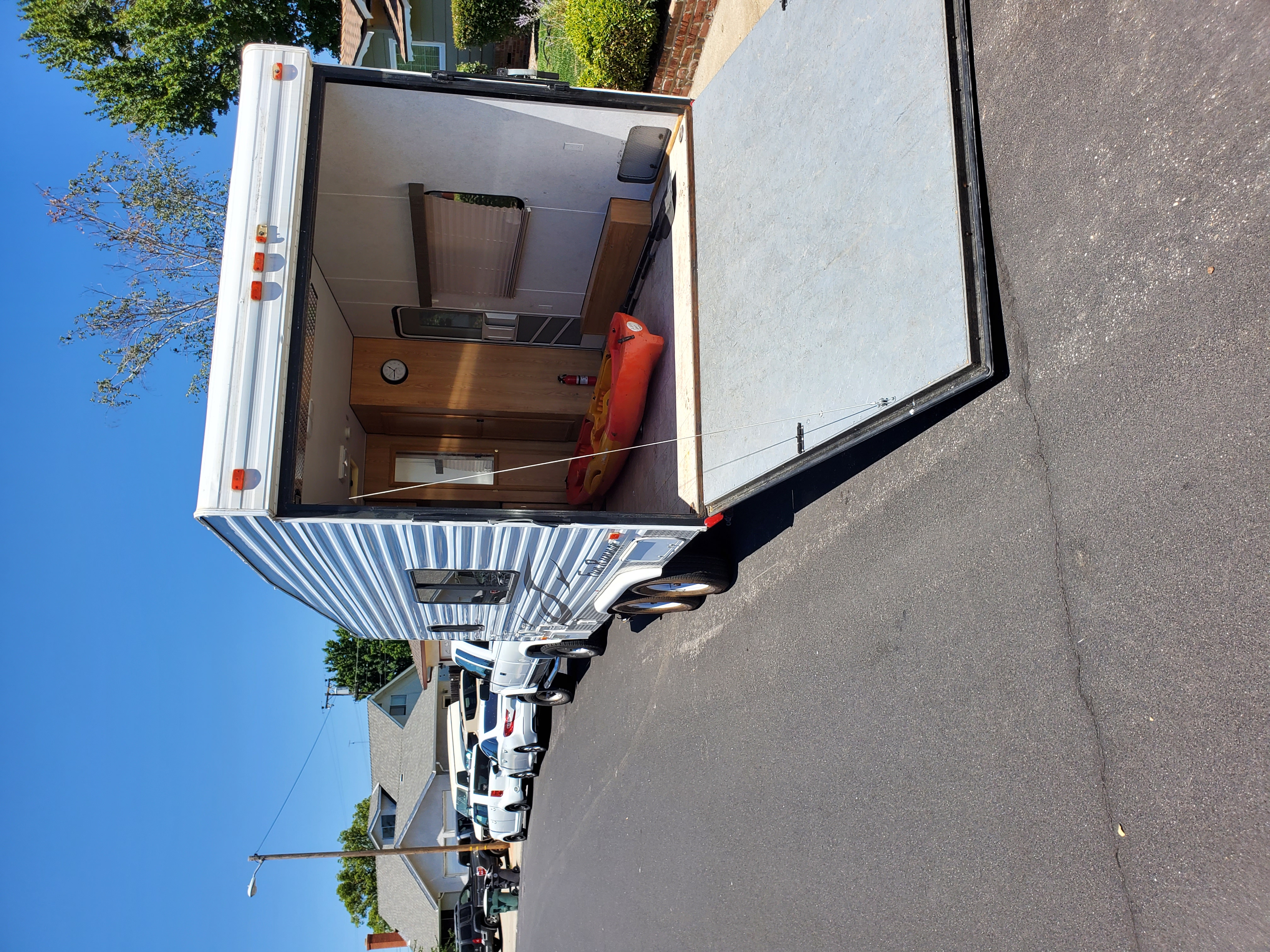 Easy pull down ramp to bring in your toys.. Carson Trailer Fun Runner 2007