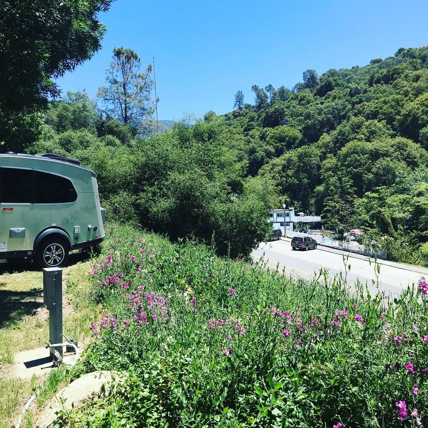 CA Hot Springs, Sequoia National Park. Airstream Base Camp 2018