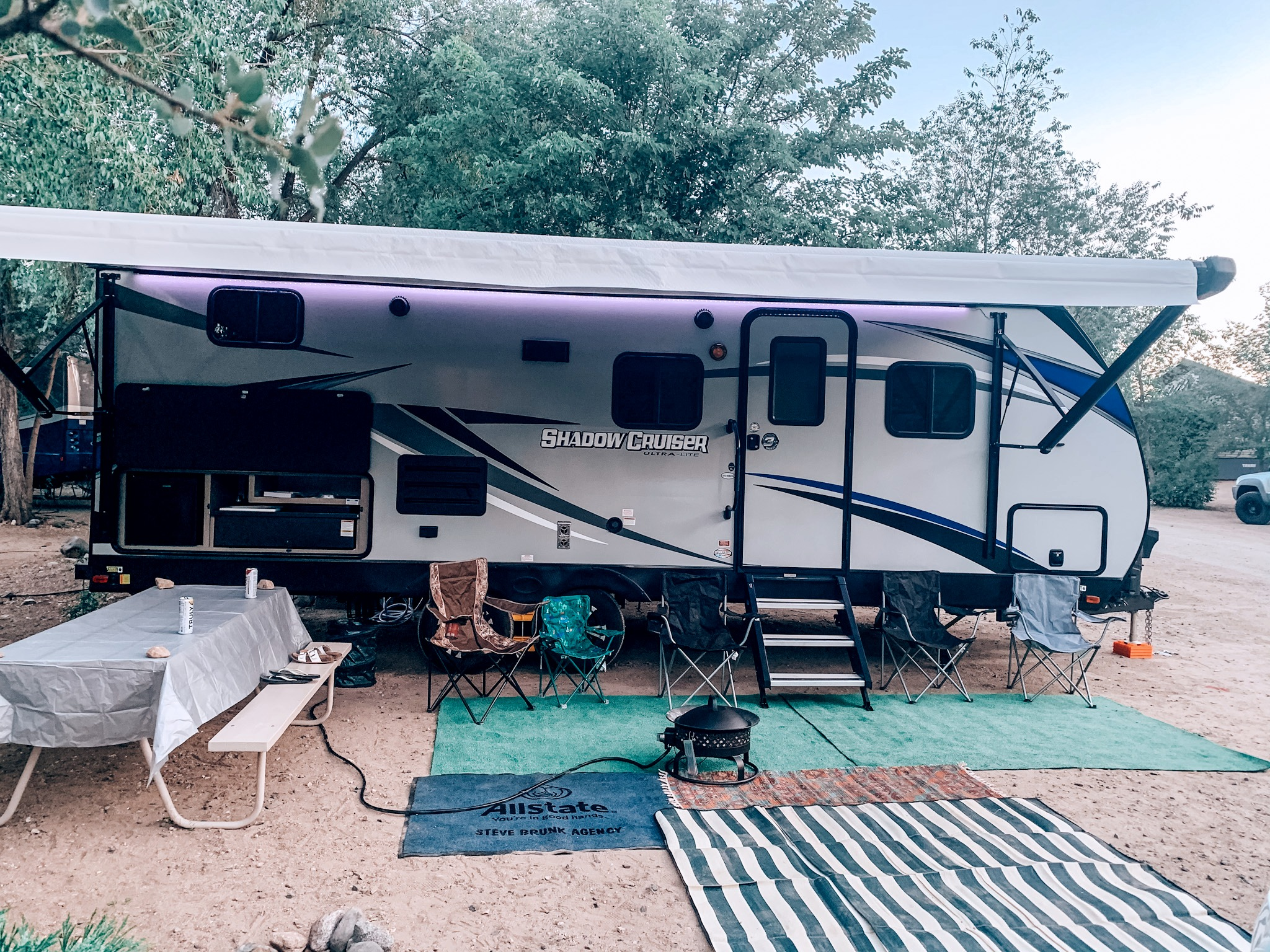 All set up and ready for fun!!!!. Cruiser Rv Corp Shadow Cruiser 2020