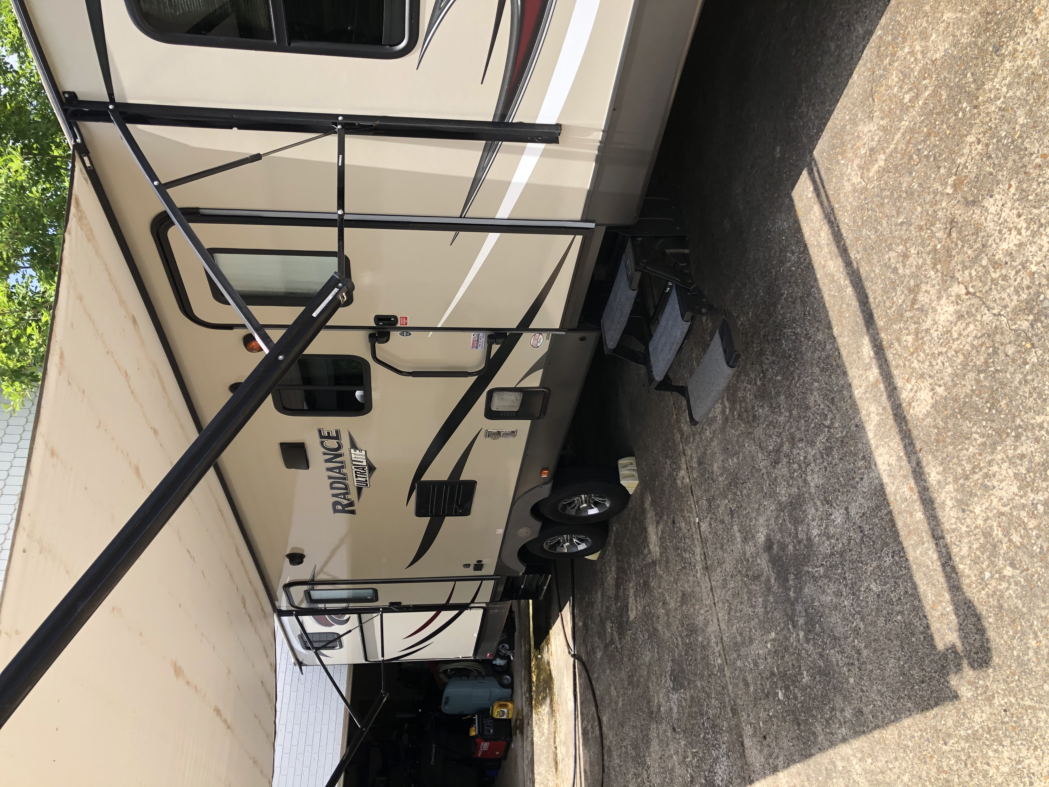 2nd door directly into batch room. Cruiser Rv Corp Radiance 2017