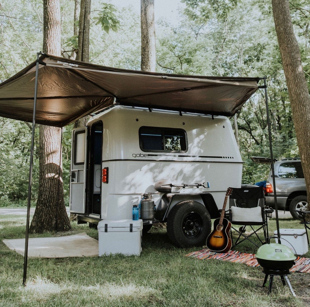 The GoBE Nomad quickly and easily transforms into a fully functional and fun campsite.. GoBE Nomad 2020