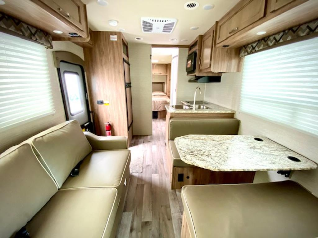Looking to the back. Jayco Redhawk 2020