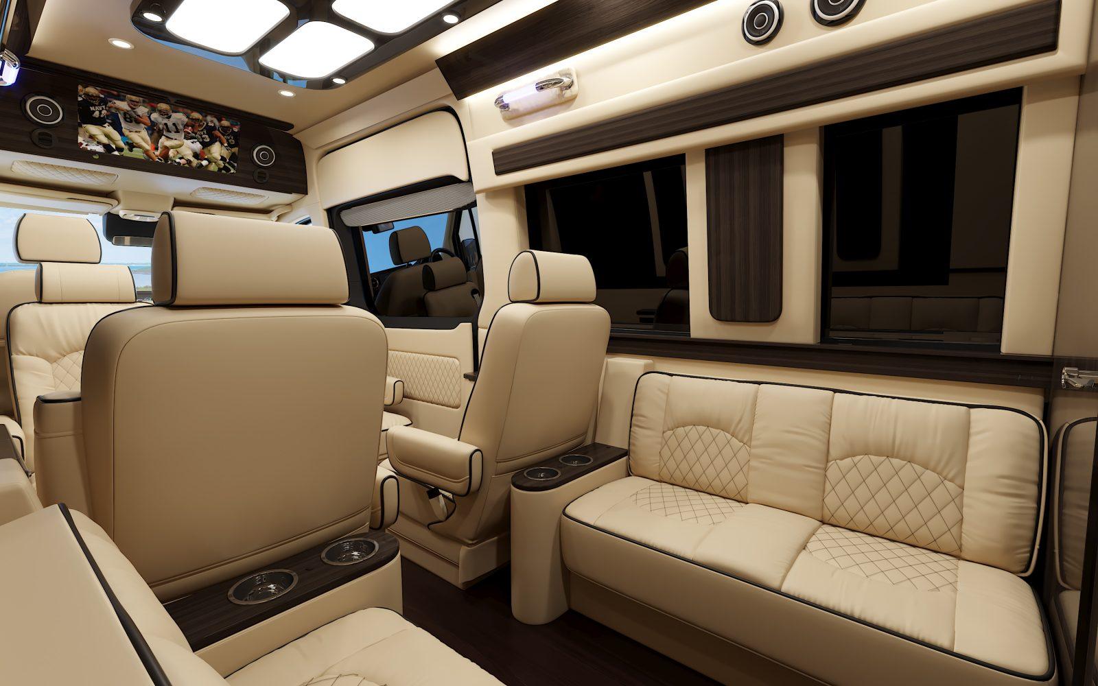 Mercedes Benz Luxury Sprinter Van Ultimate Toys Presidential 2020