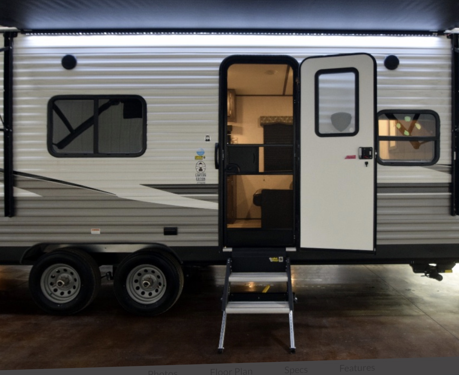 Exterior Canopy with Lighting. Coleman Other 2020